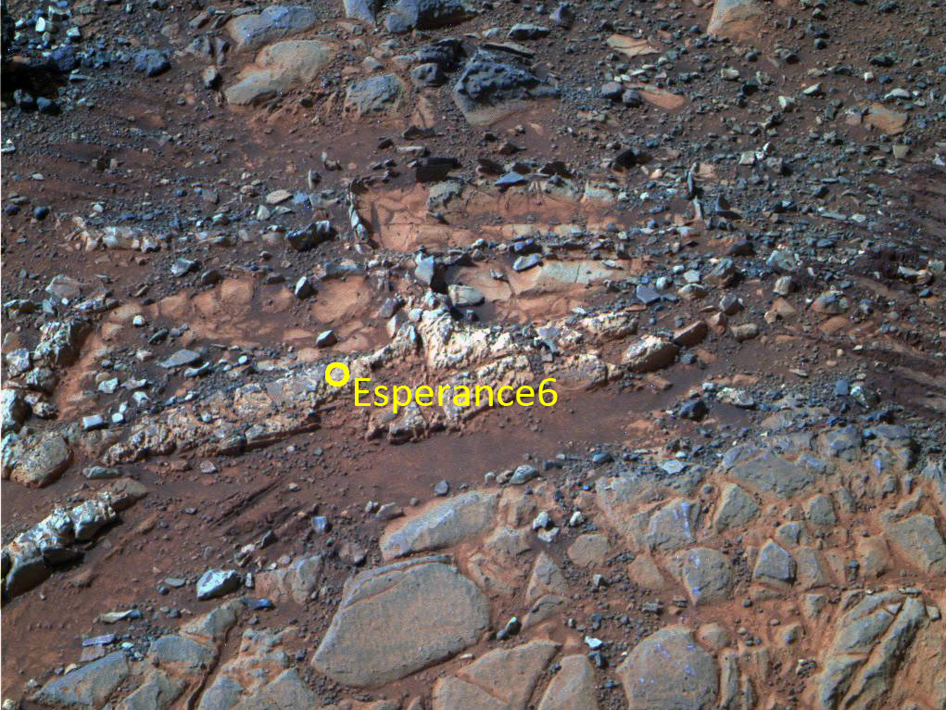 'Esperance' target examined by Opportunity