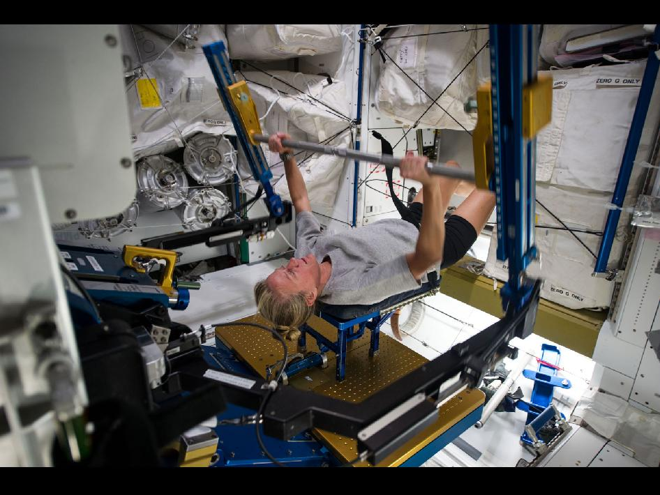 Astronaut Ared Exercise - Pics about space