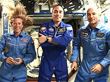 Expedition 36 crew members