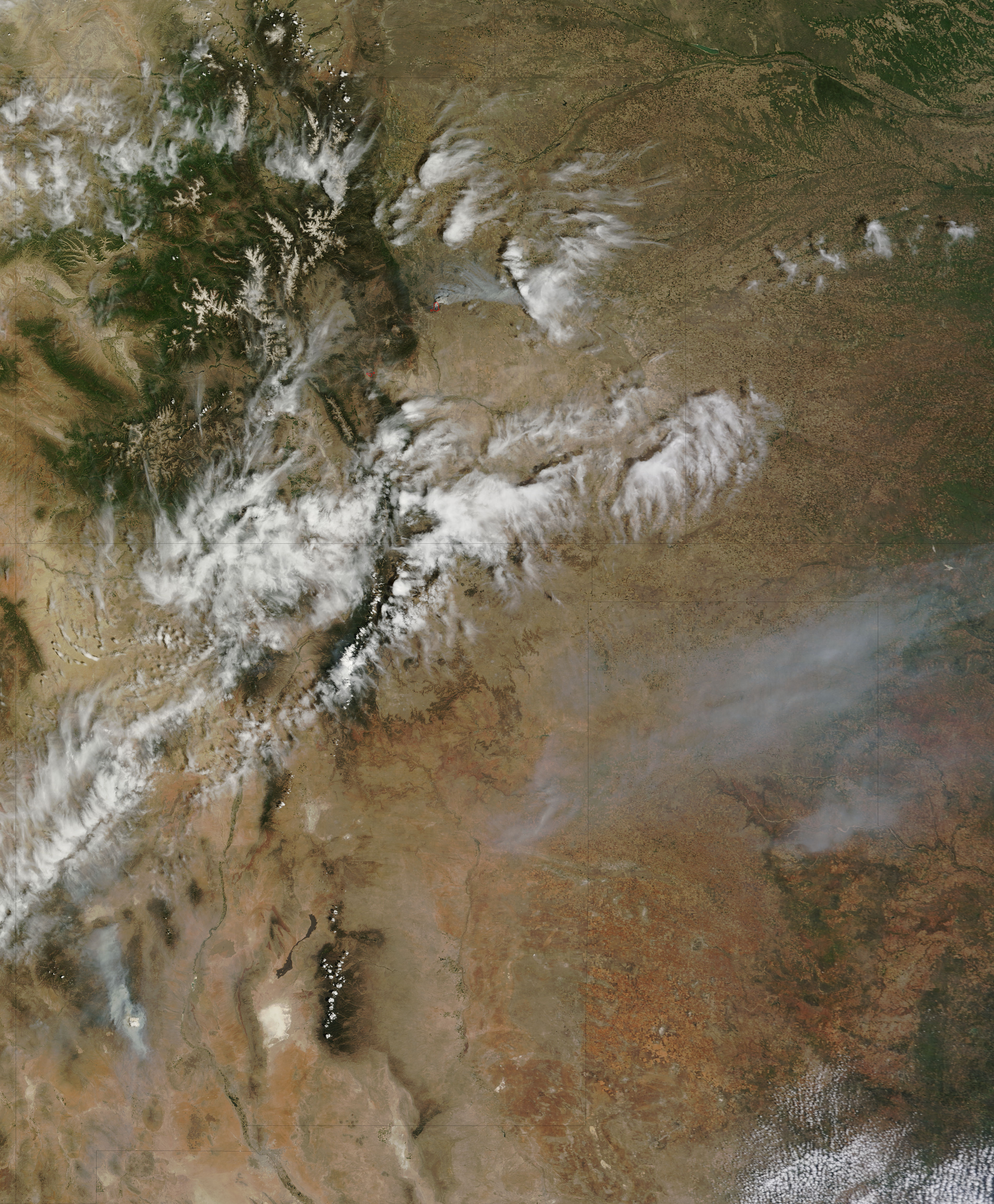 Black Forest And Royal Gorge Fires
