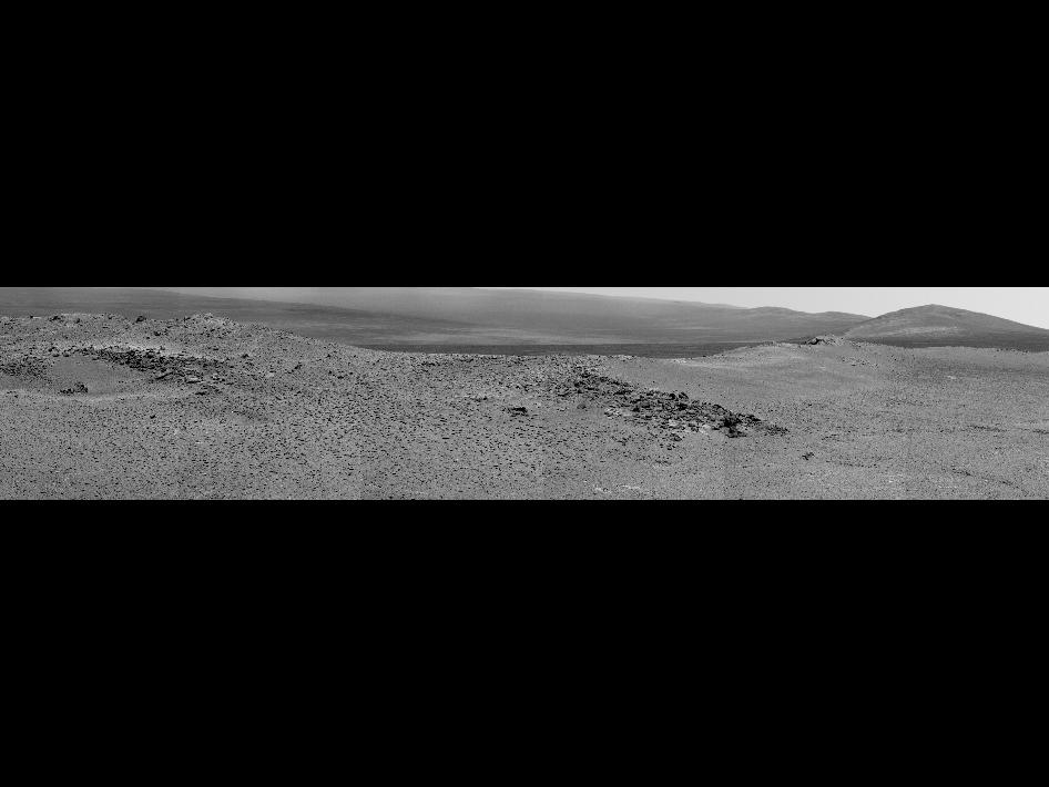'Knobbys Head' on Opportunity's southward route