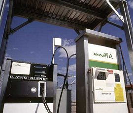 A prototype hydrogen fueling station in Las Vegas, NV
