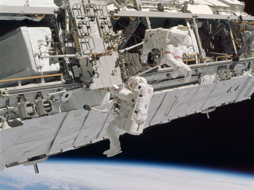 STS-110 Extravehicular Activity (EVA)