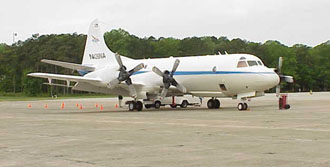 NASA P-3B aircraft