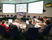Mission Management Team seminar at NASA's Johnson Space Center