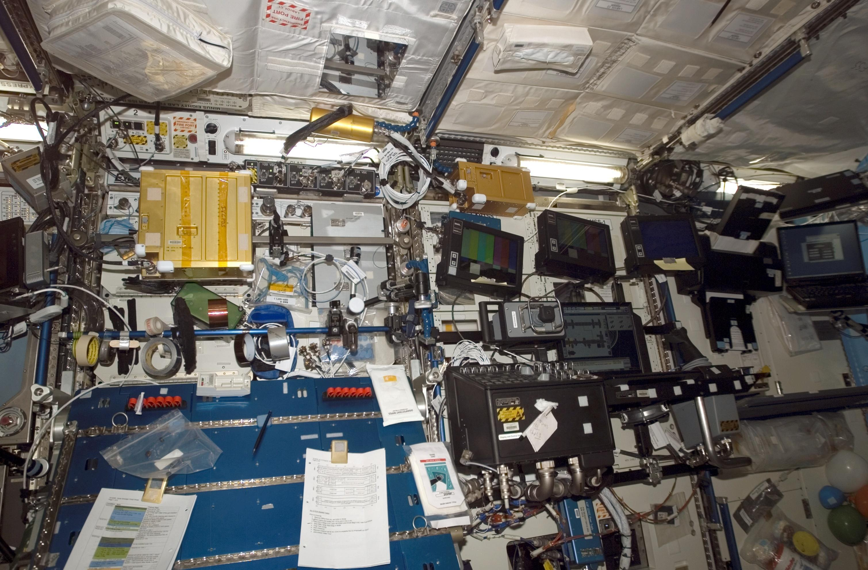 nasa space station inside - photo #2