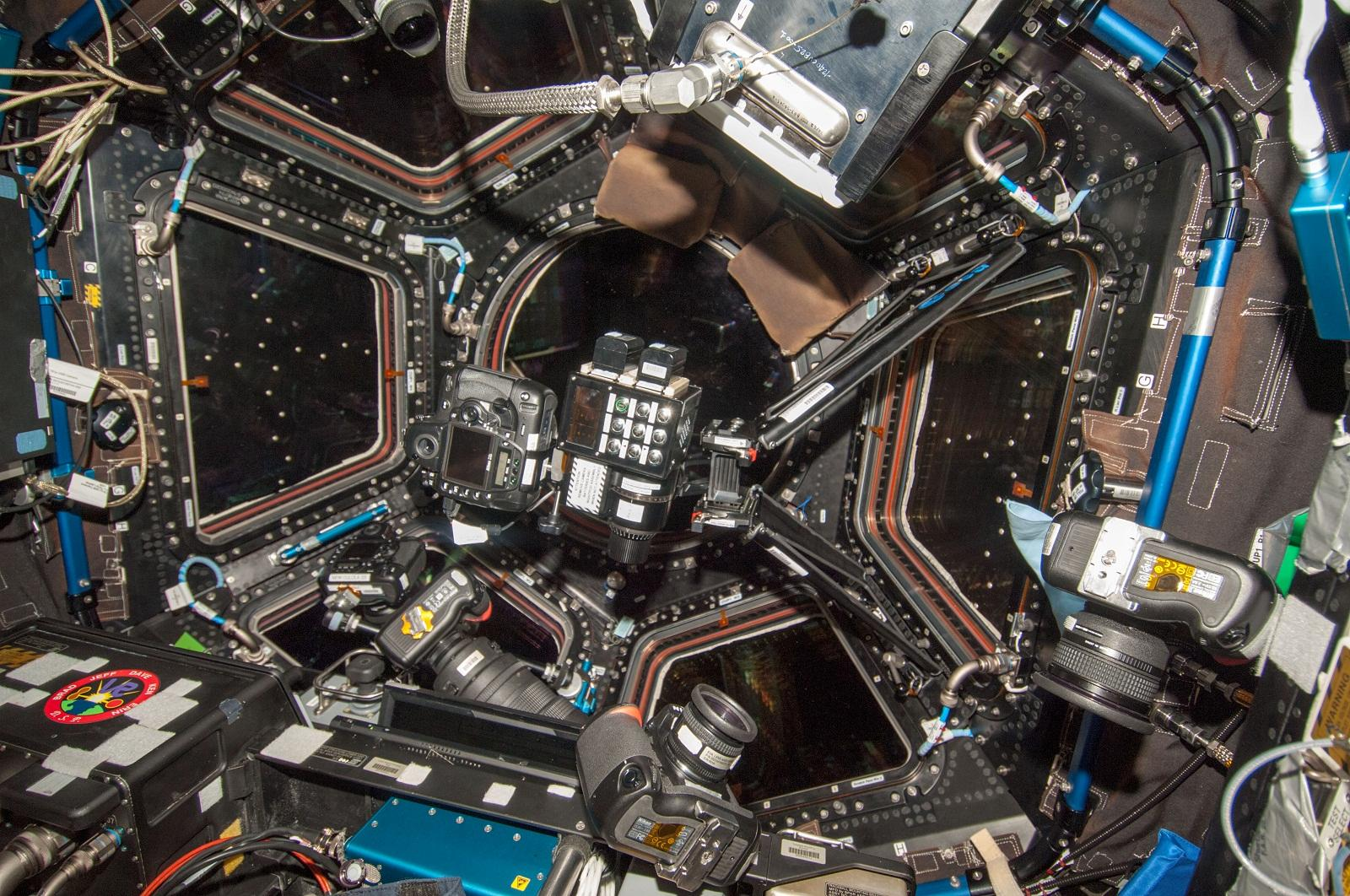 ISS Photos Yield Cities at Night World Map  Sky  Telescope