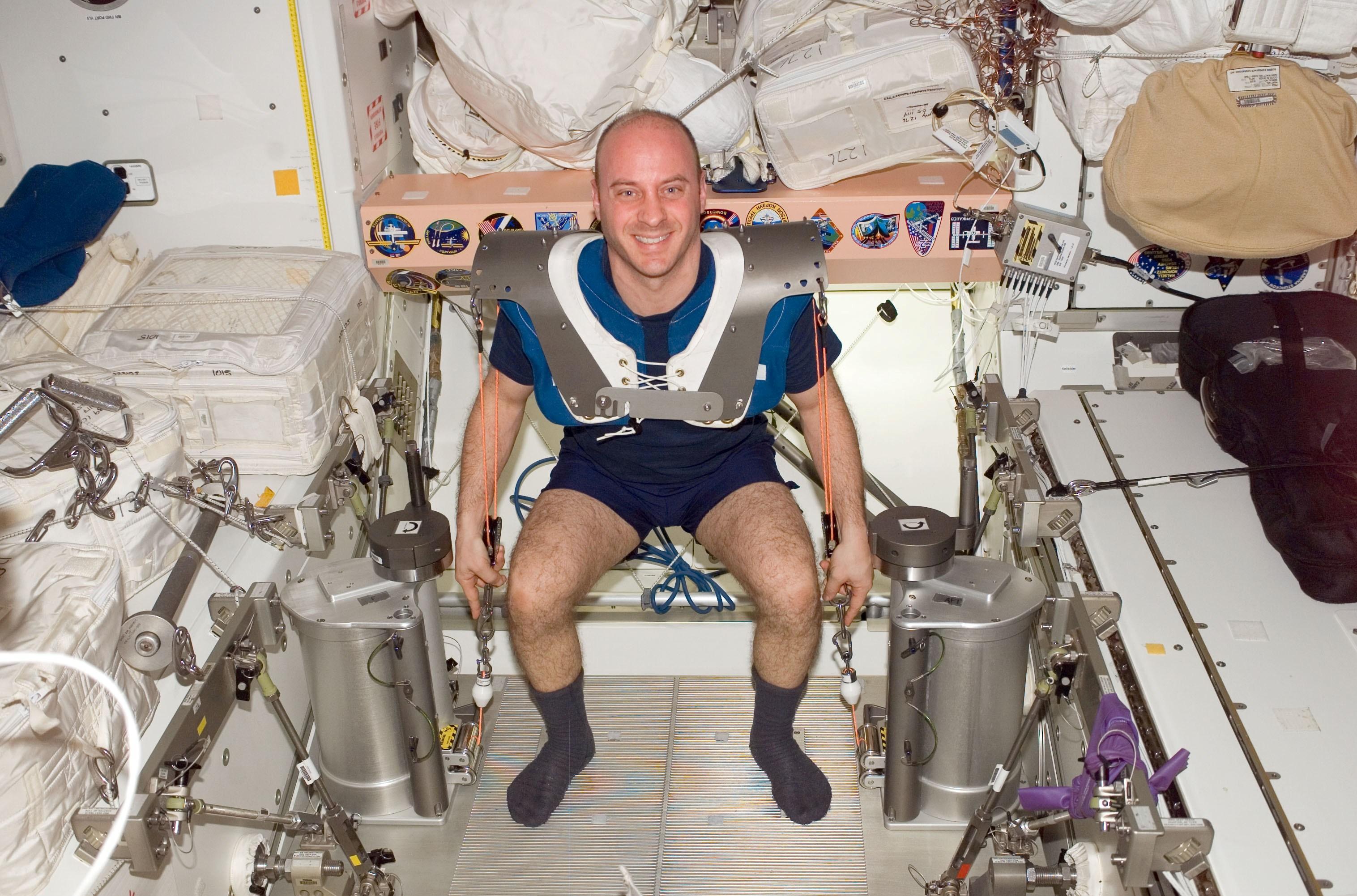 astronaut exercise weight - photo #27