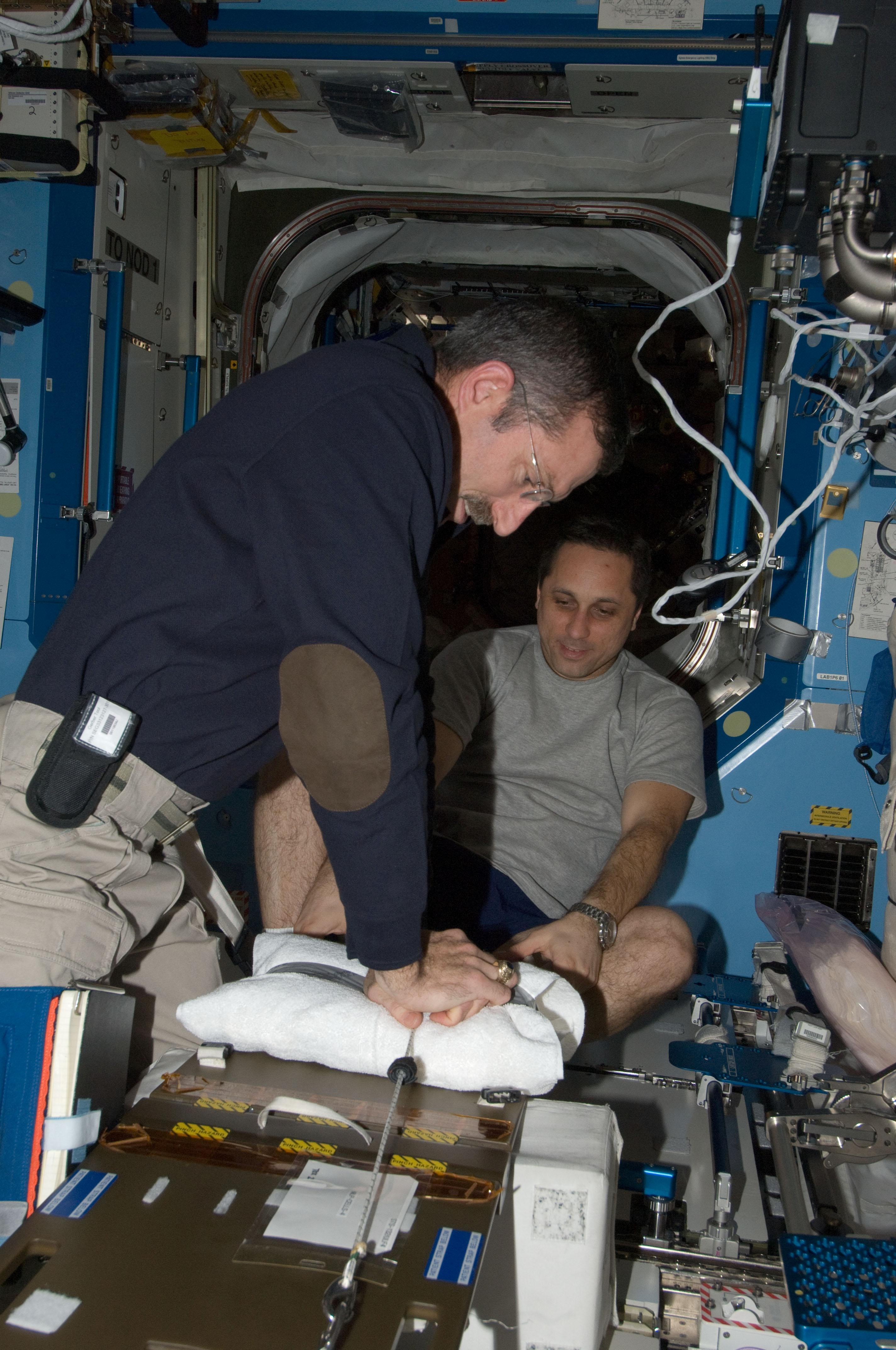 Nasa International Space Station Medical Monitoring