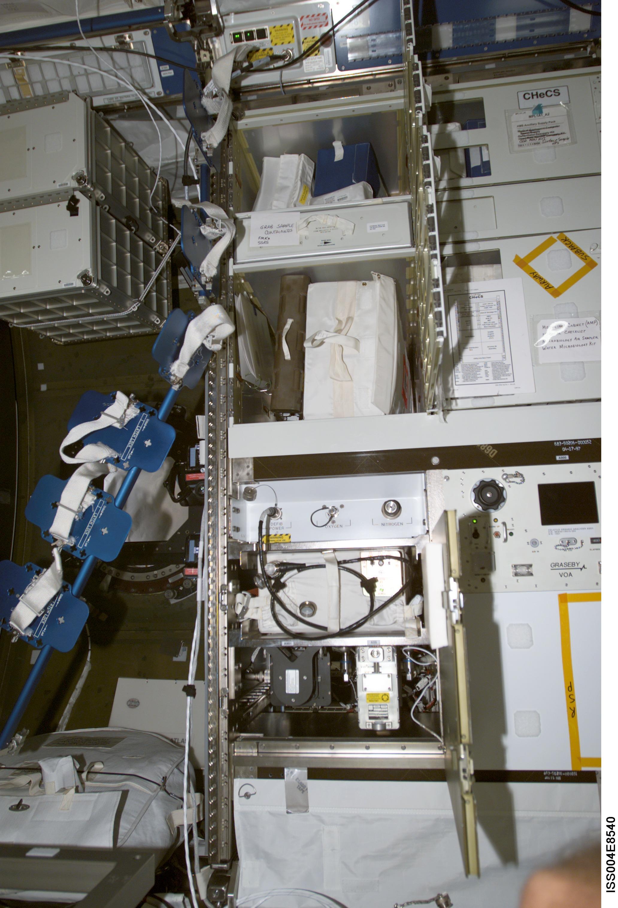 Nasa International Space Station Medical Monitoring