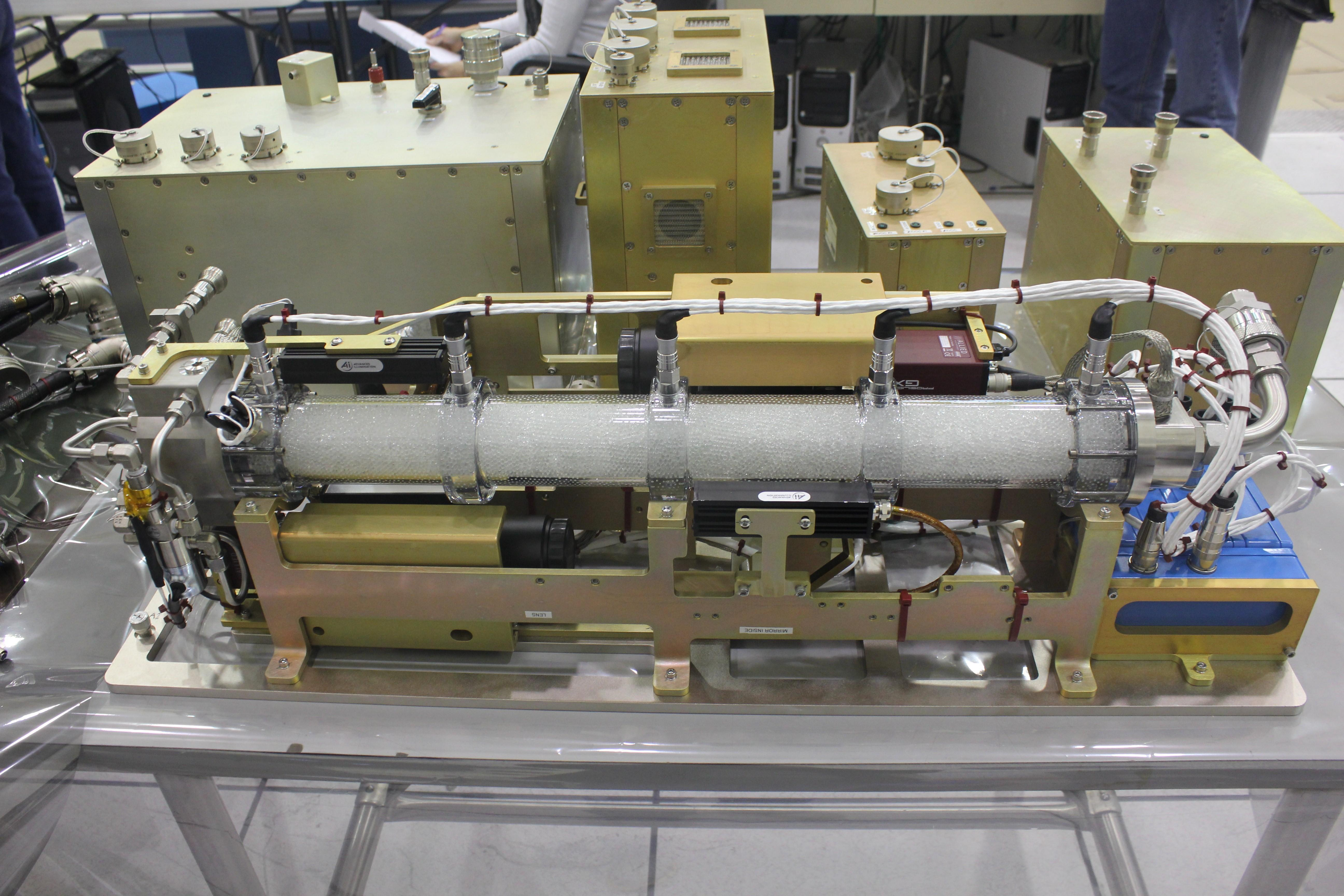 nasa packed bed reactor experiment