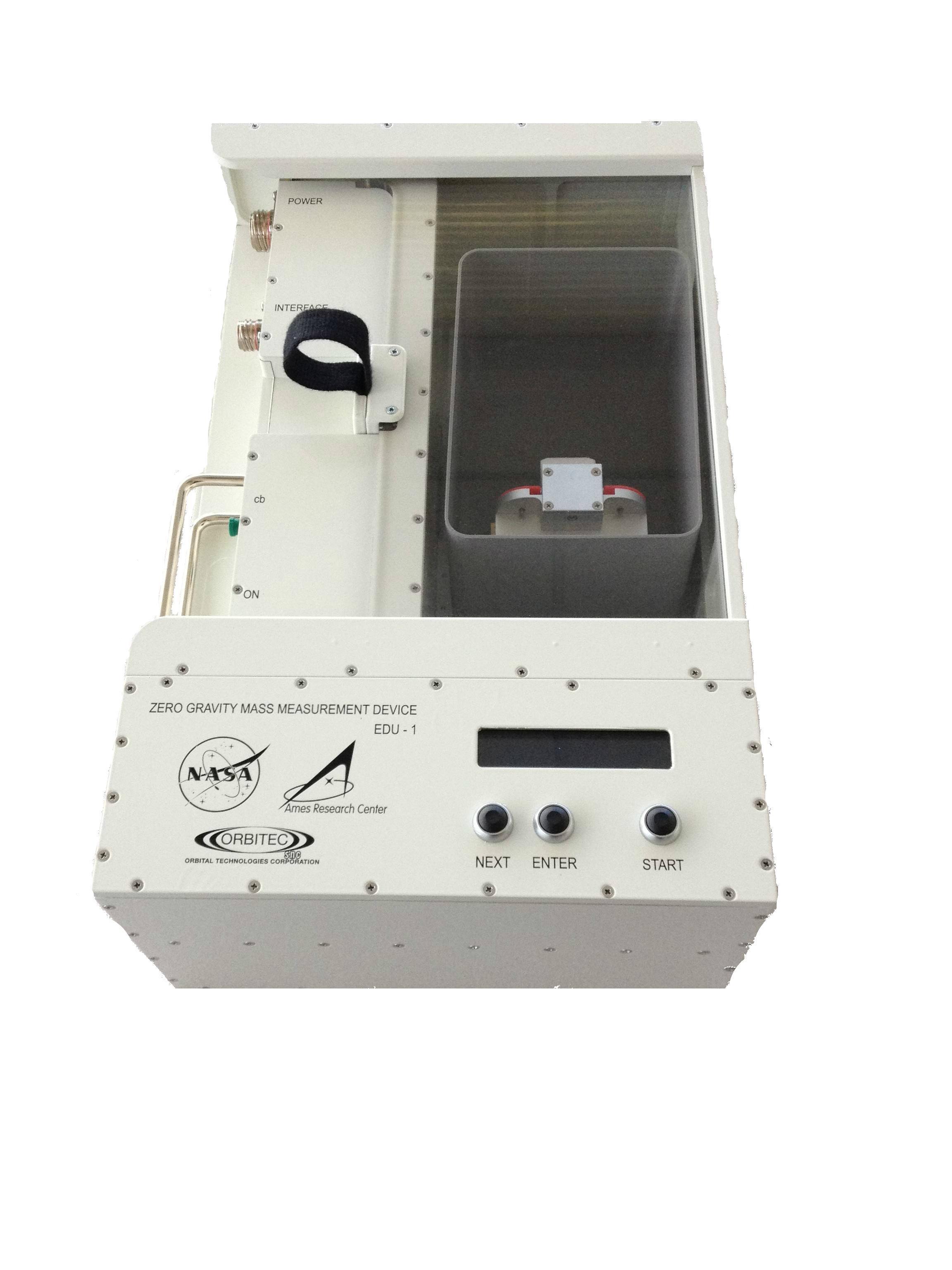 nasa mass measurement device