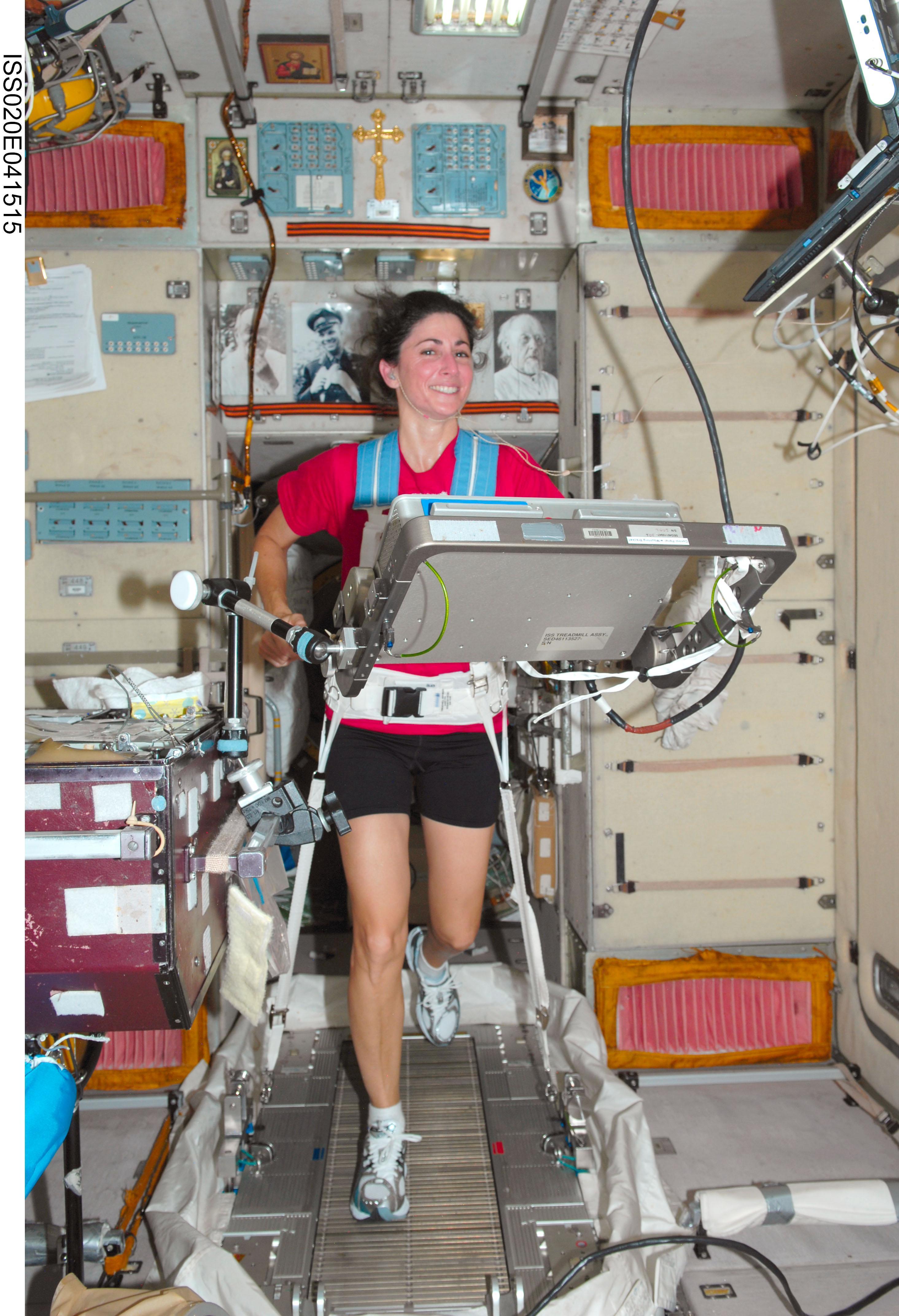 Nasa Treadmill With Vibration Isolation And