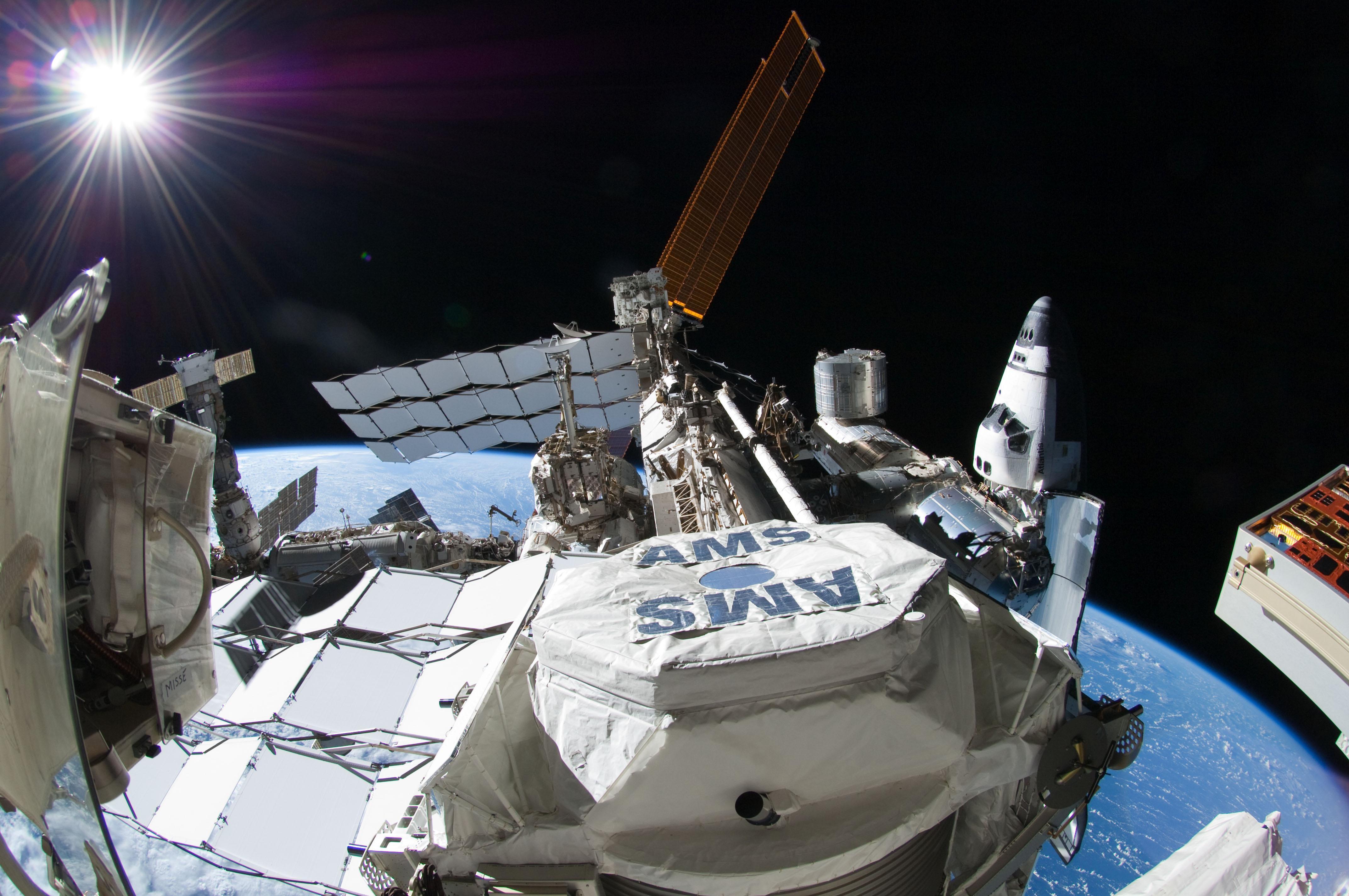 NASA - Alpha Magnetic Spectrometer - 02