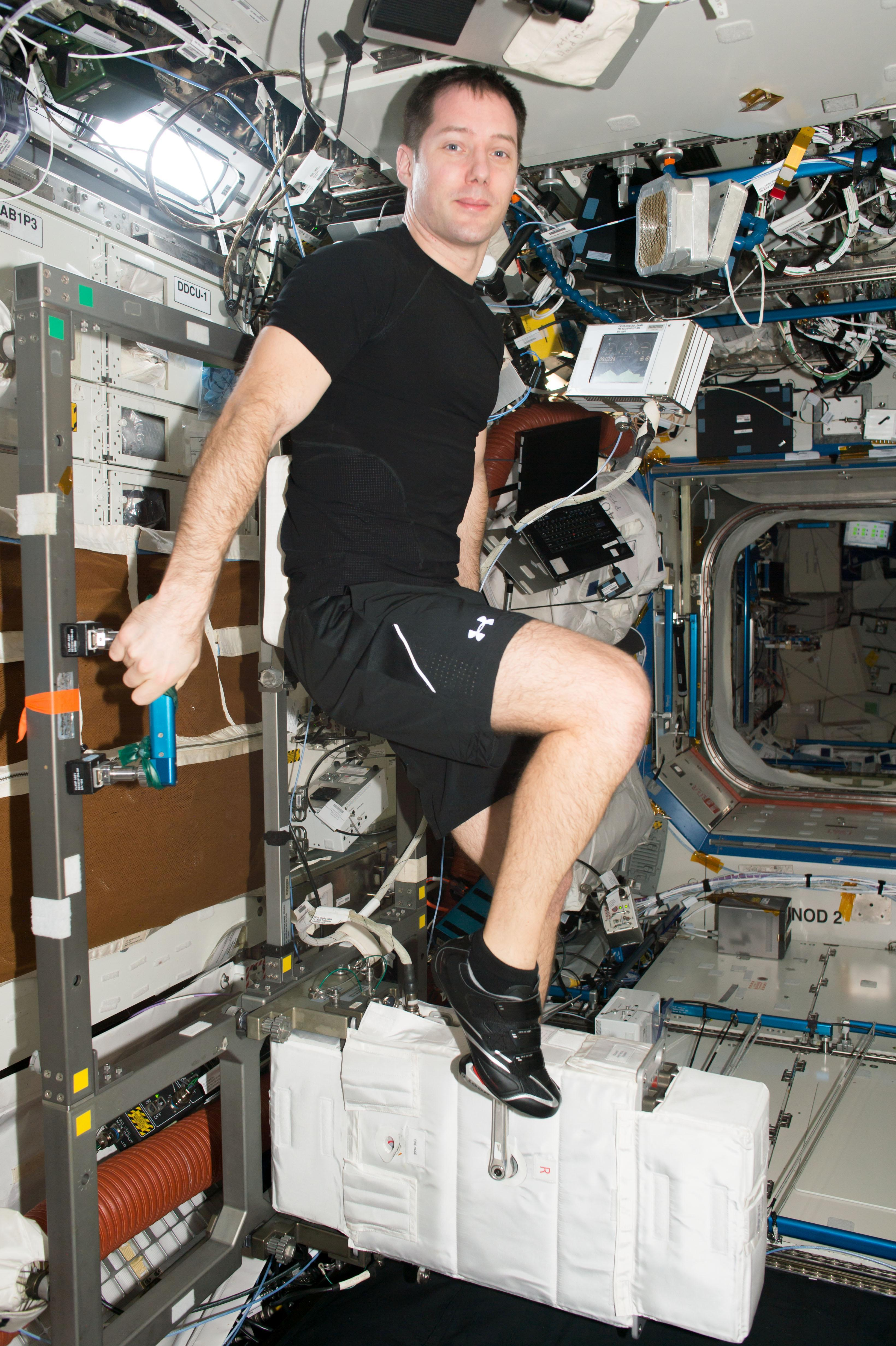 NASA - Cycle Ergometer with Vibration Isolation and