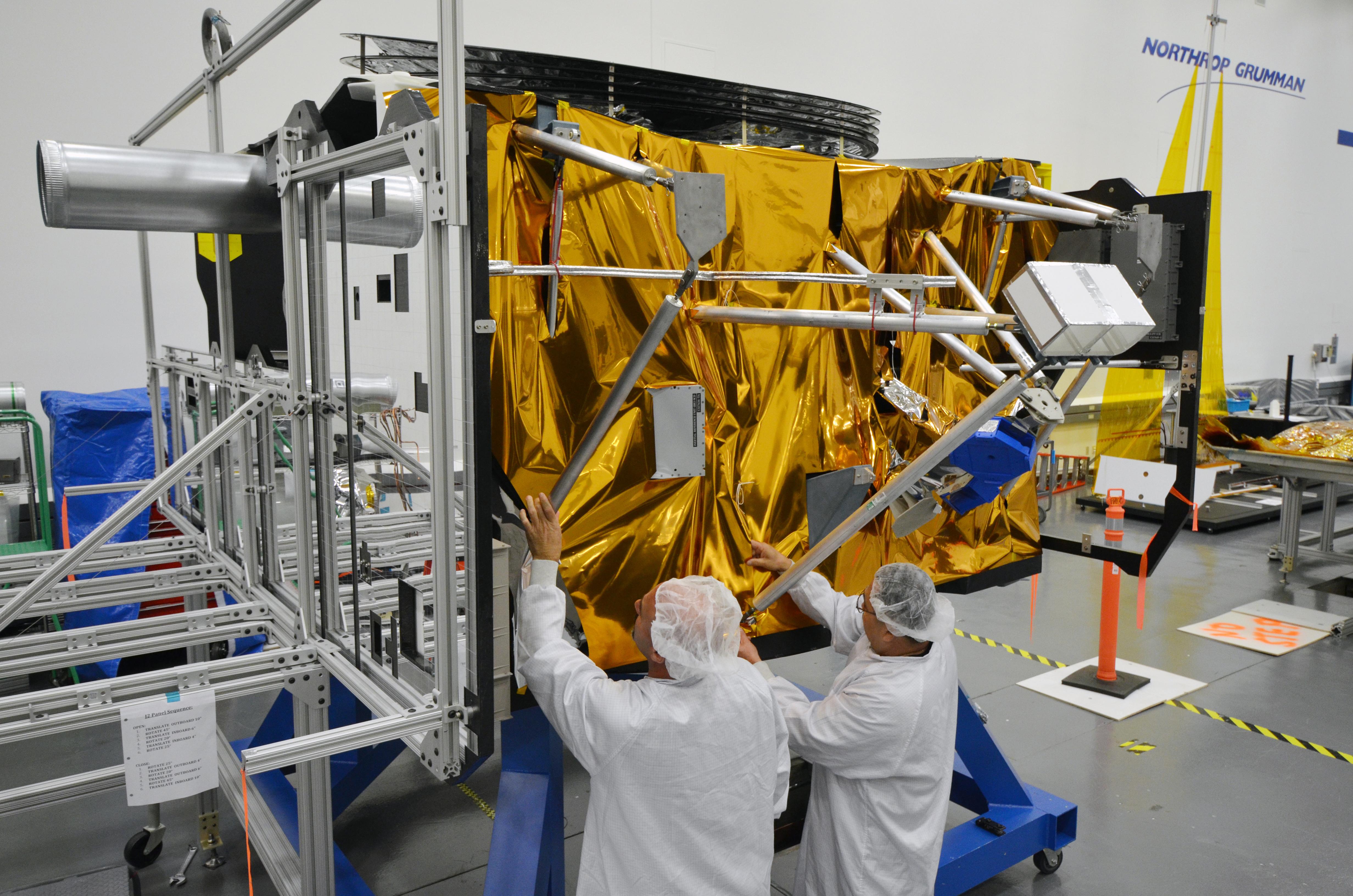 Mock The Bus Nasa S James Webb Space Telescope Nasa