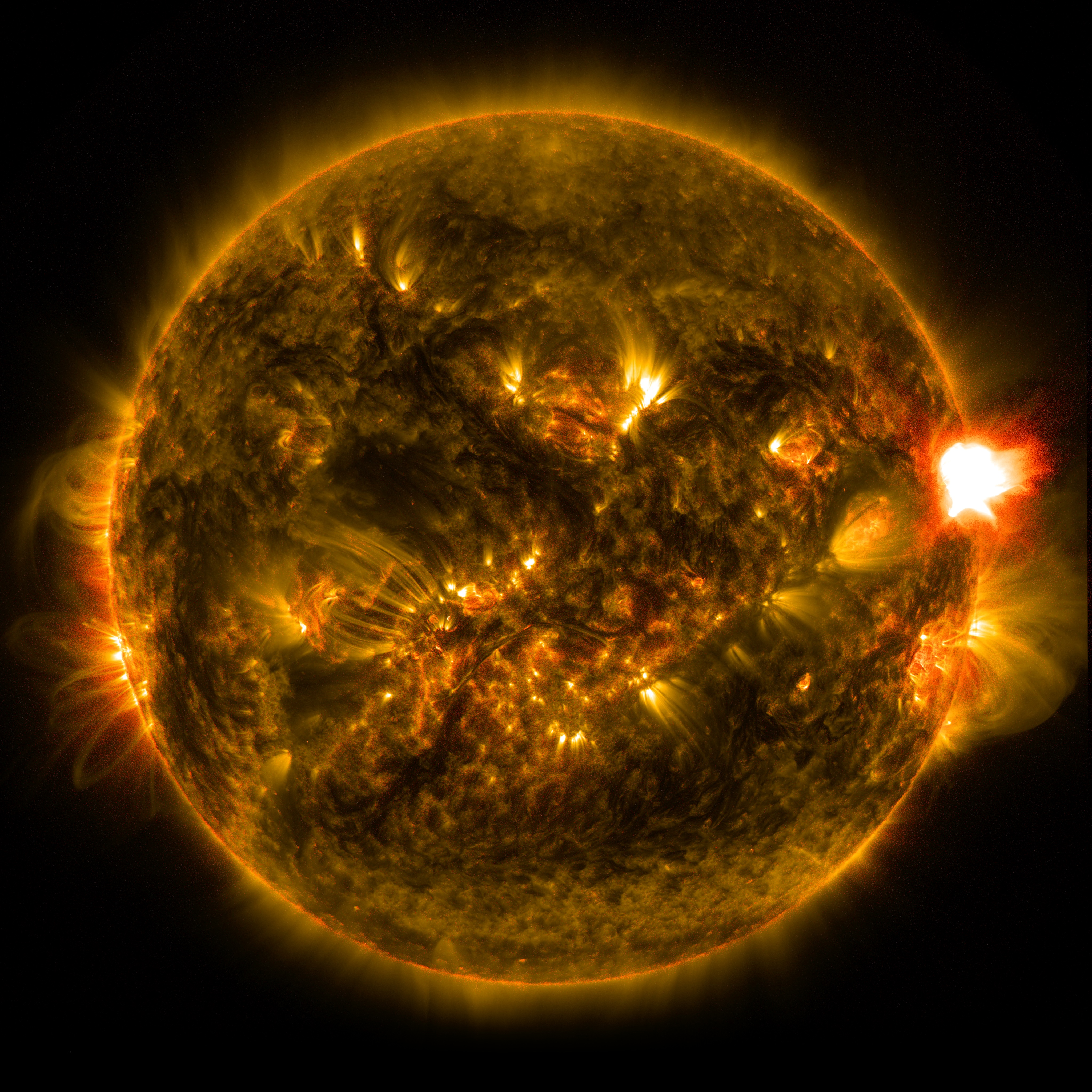 First Notable Solar Flare of 2015 | NASA