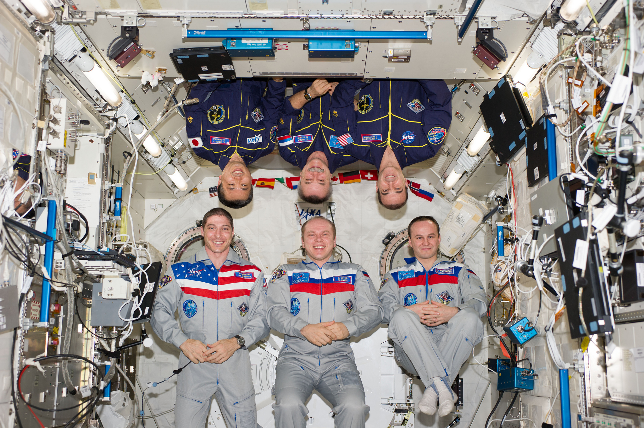 astronaut crews of the international space station role - photo #11