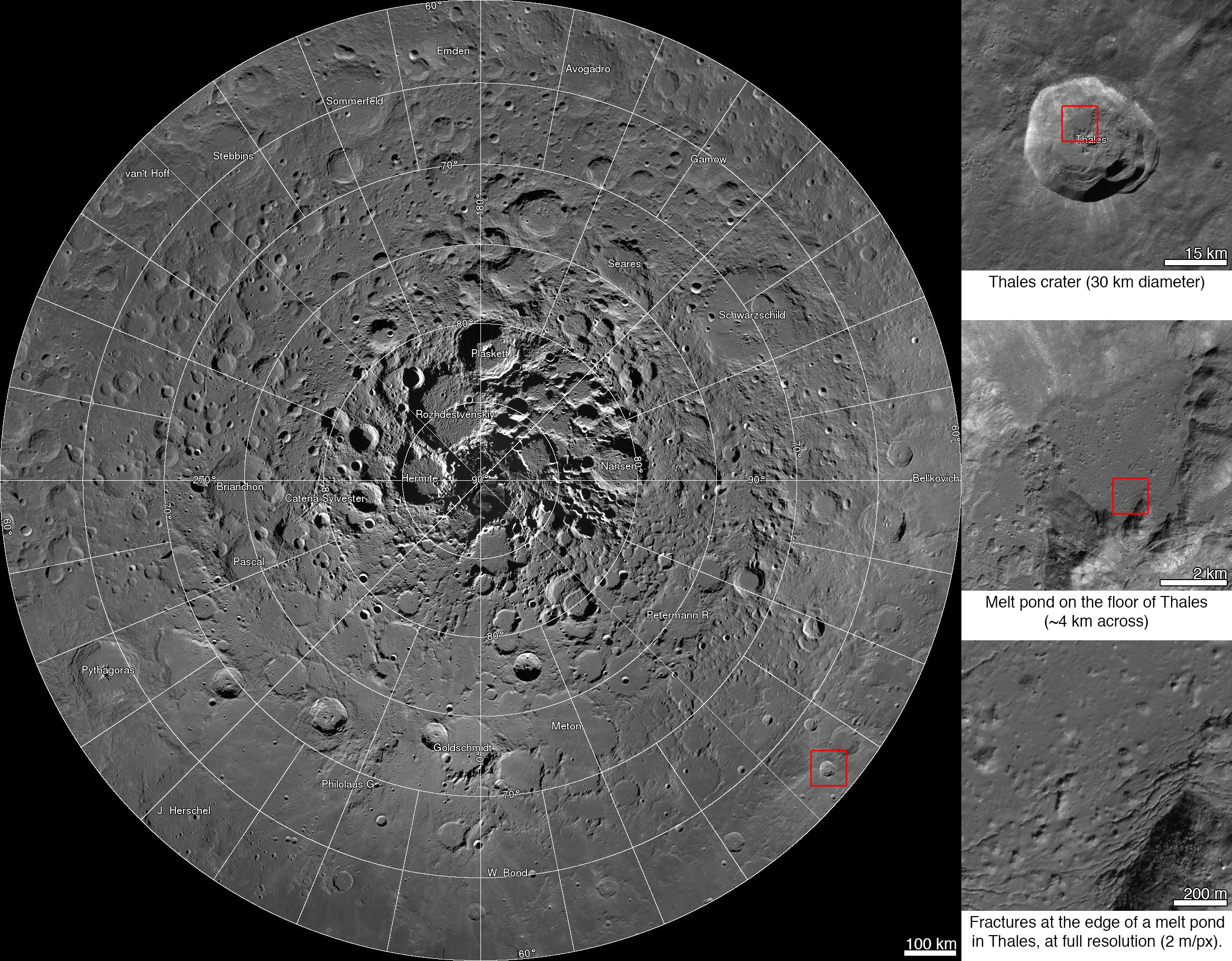 NASA Releases First Interactive Mosaic of Lunar North Pole  NASA