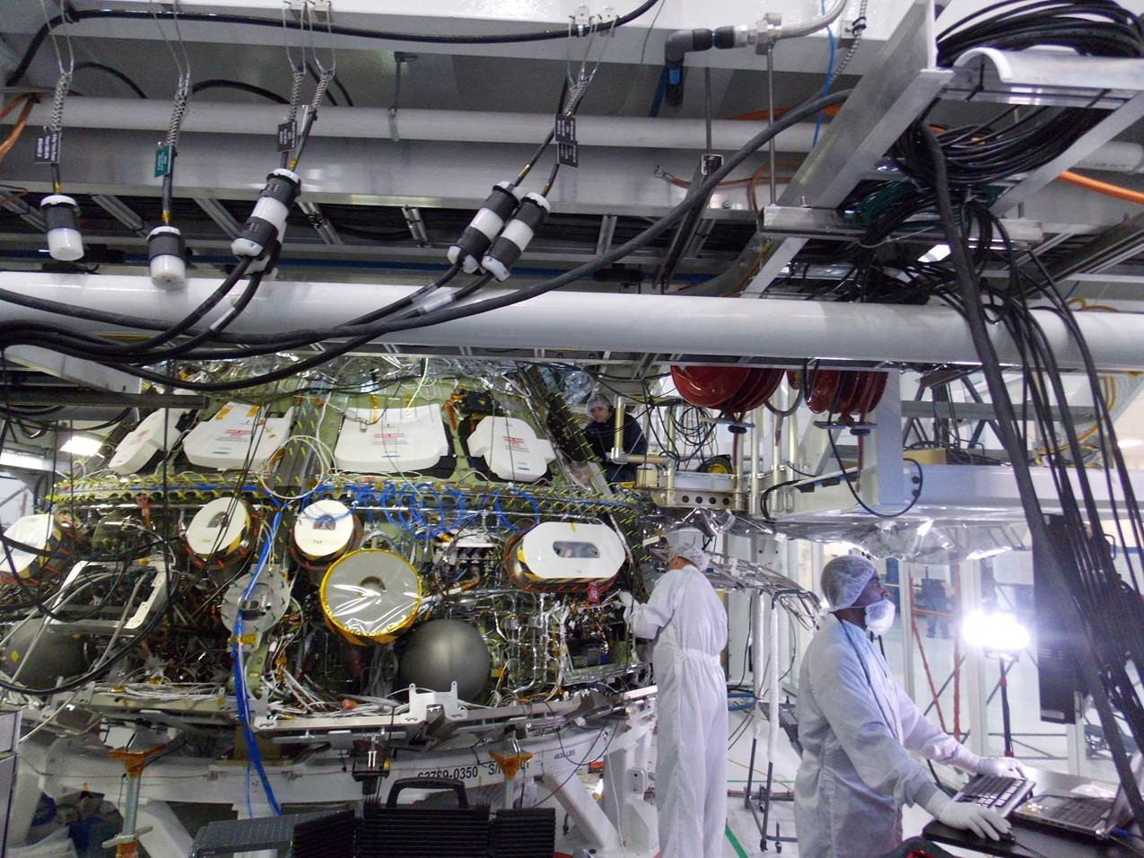 NASA's Orion Spacecraft Powers through First Integrated System Testing
