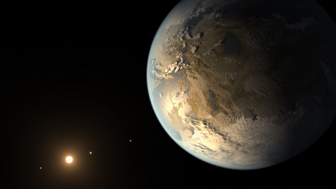 Kepler Telescope Discovers First Earth-Size Planet in 'Habitable Zone'