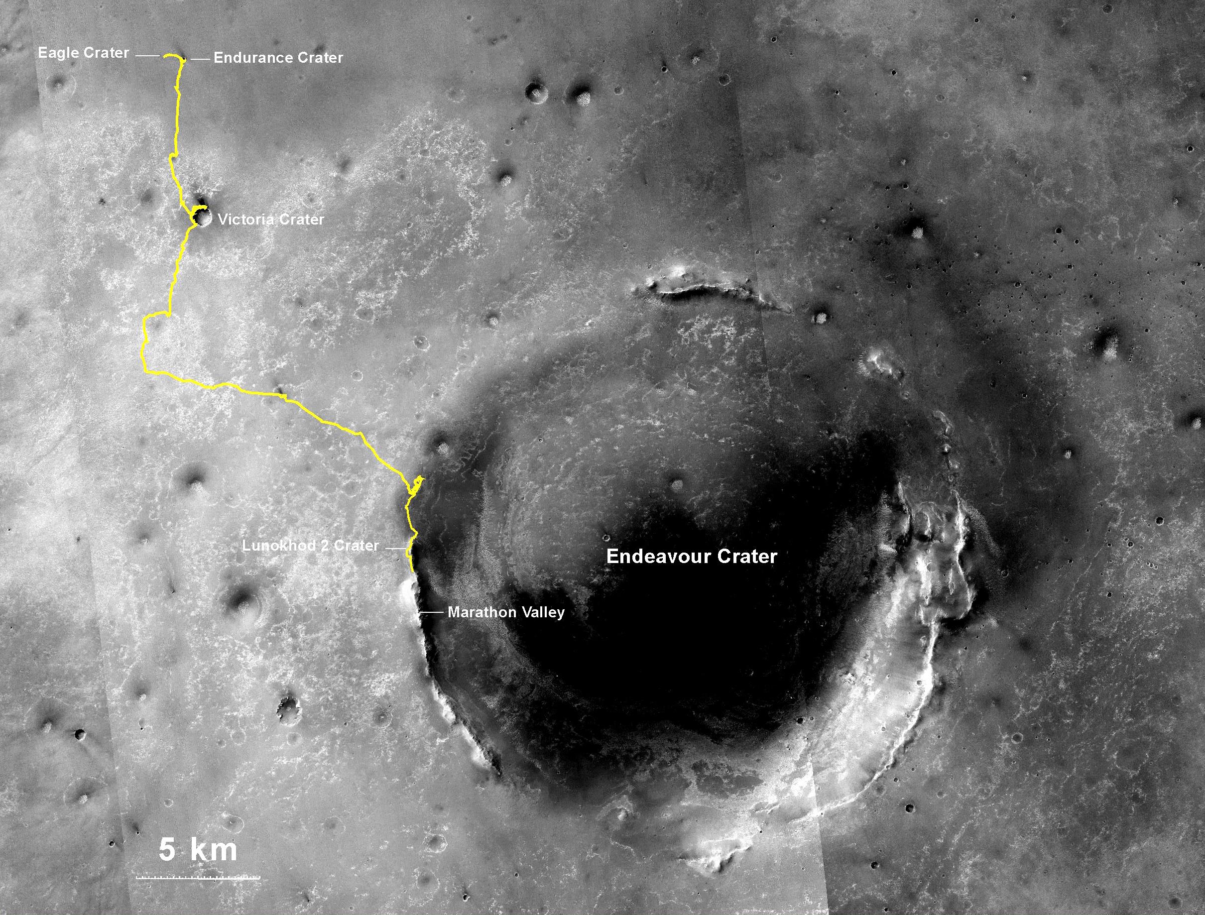 mars rover location - photo #8