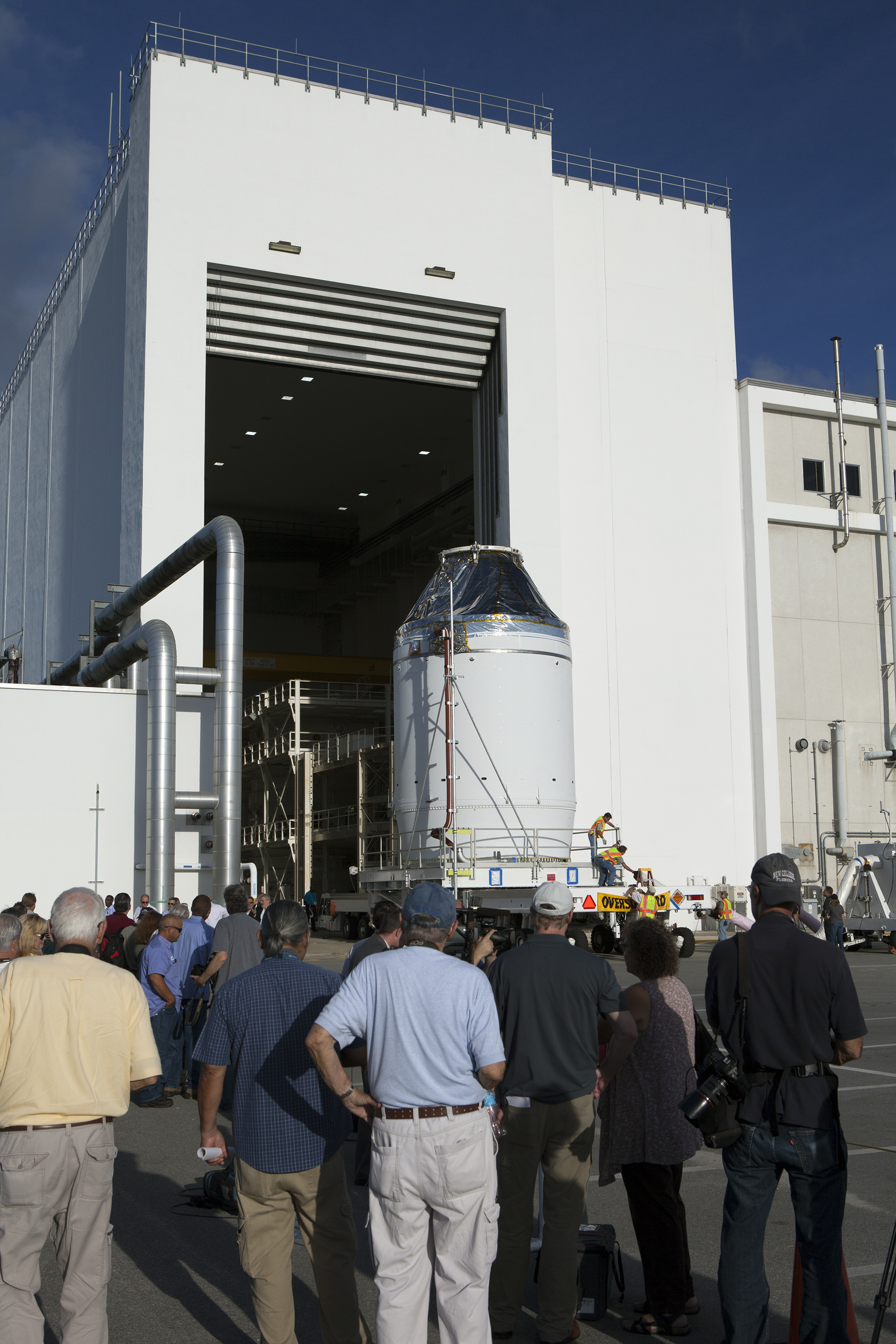 NASA's Orion Spacecraft Nears Completion, Ready for Fueling