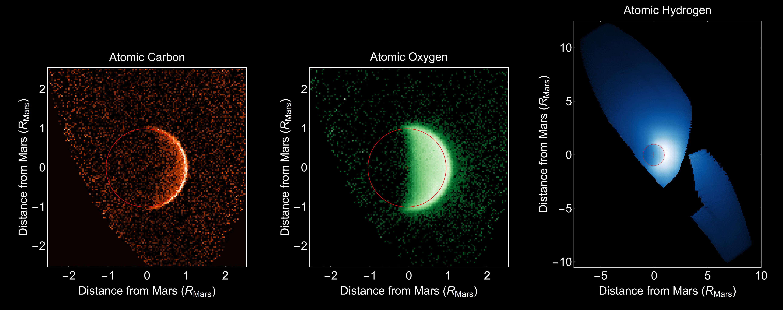 Mars Orbiter Sends First Snap Maven