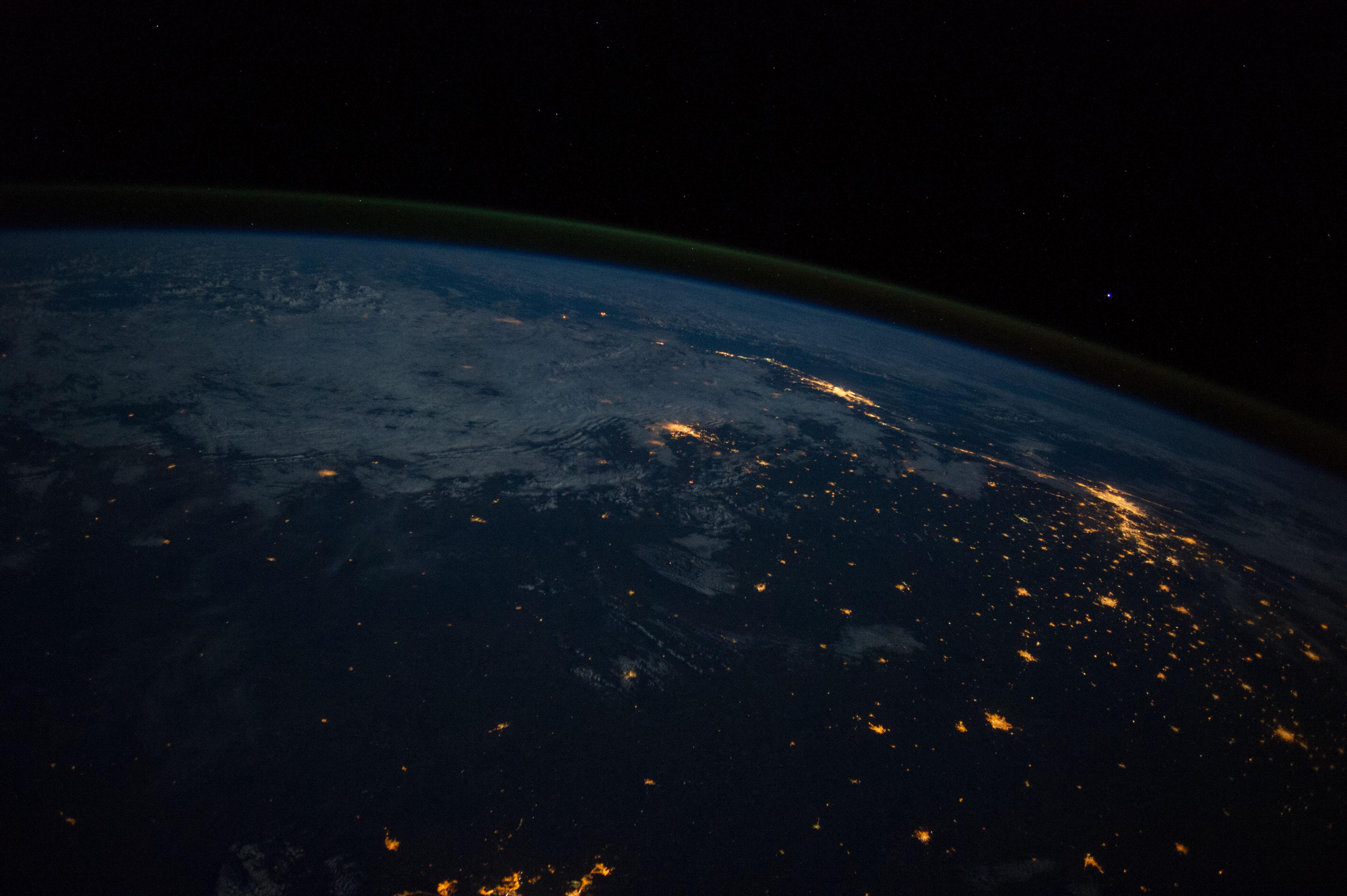 Rio de Janeiro and Sao Paulo From the International Space ...