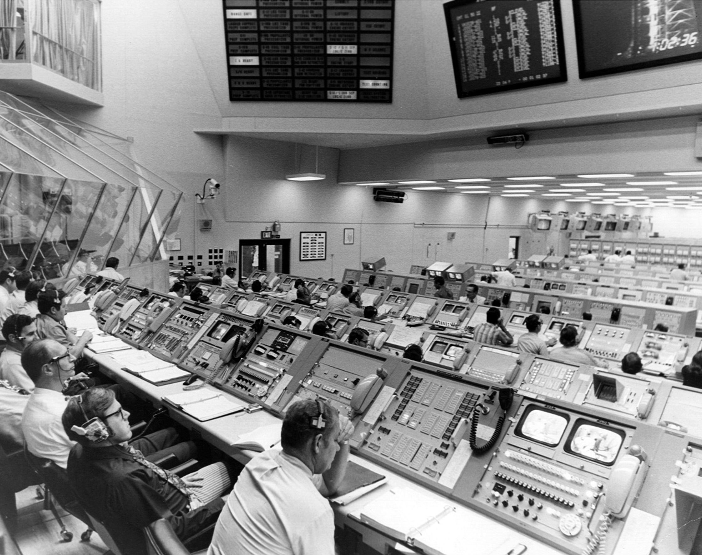 Launch Control Center Tour