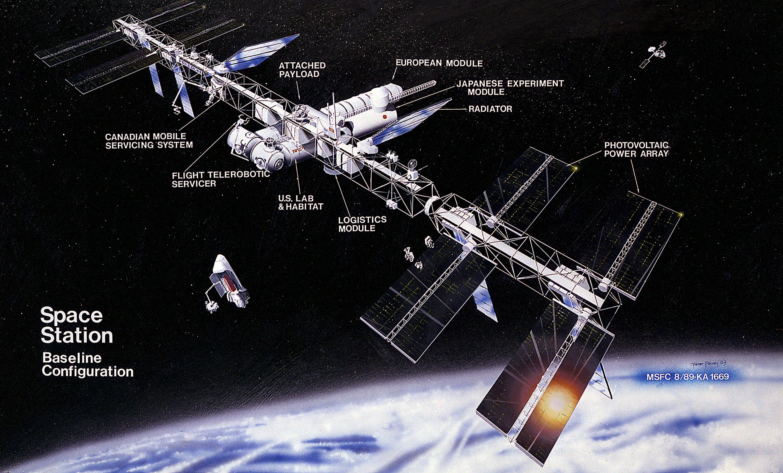 futuristic donut space station - photo #32