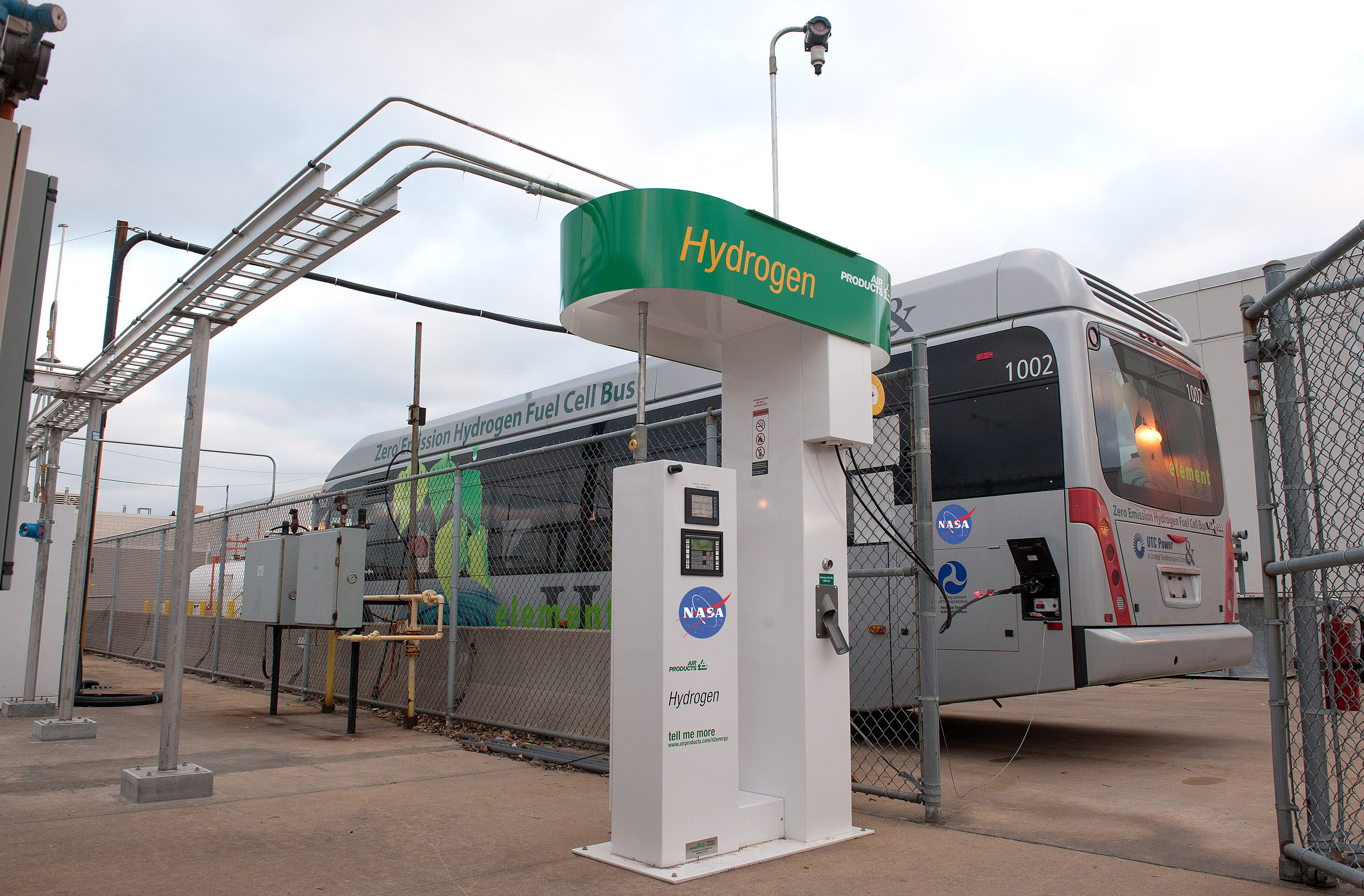 Nasa Partners With Community To Demonstrate Hydrogen Bus