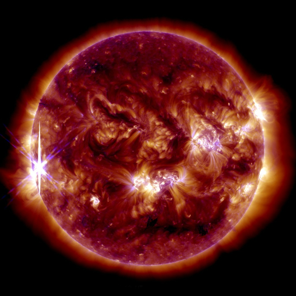 Sun Emits Third Solar Flare in 2 Days | NASA