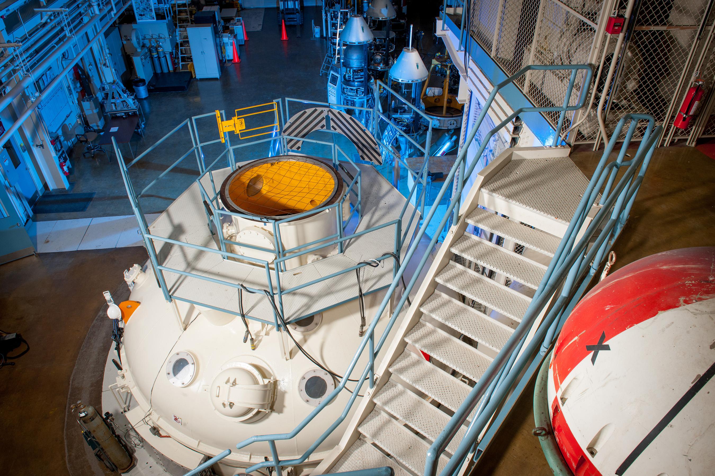 The Zero Gravity Research Facility is NASA