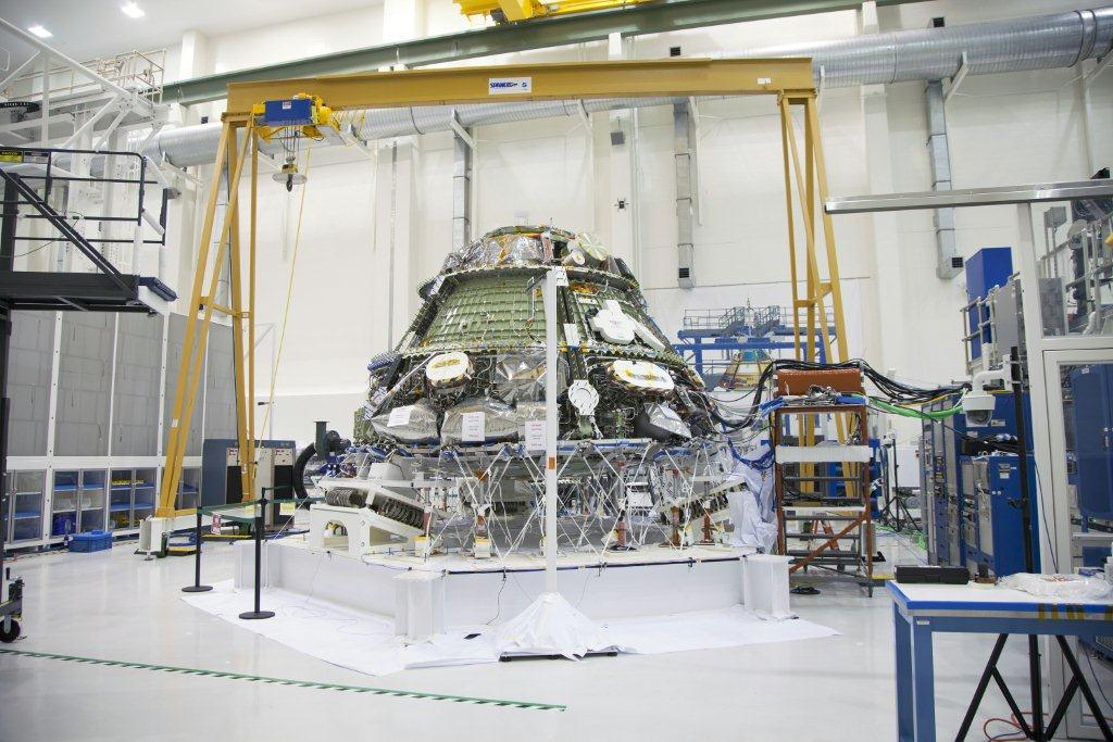 Orion Feels The Vibe During Tests At Kennedy Space Center