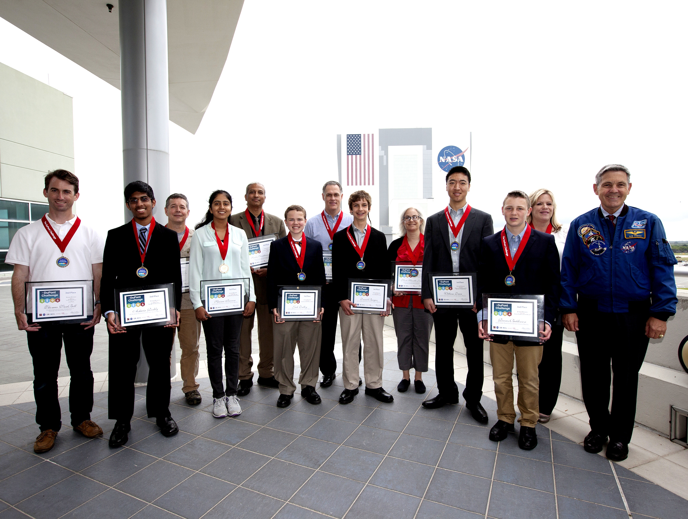 kennedy honors dupont essay challenge winners nasa