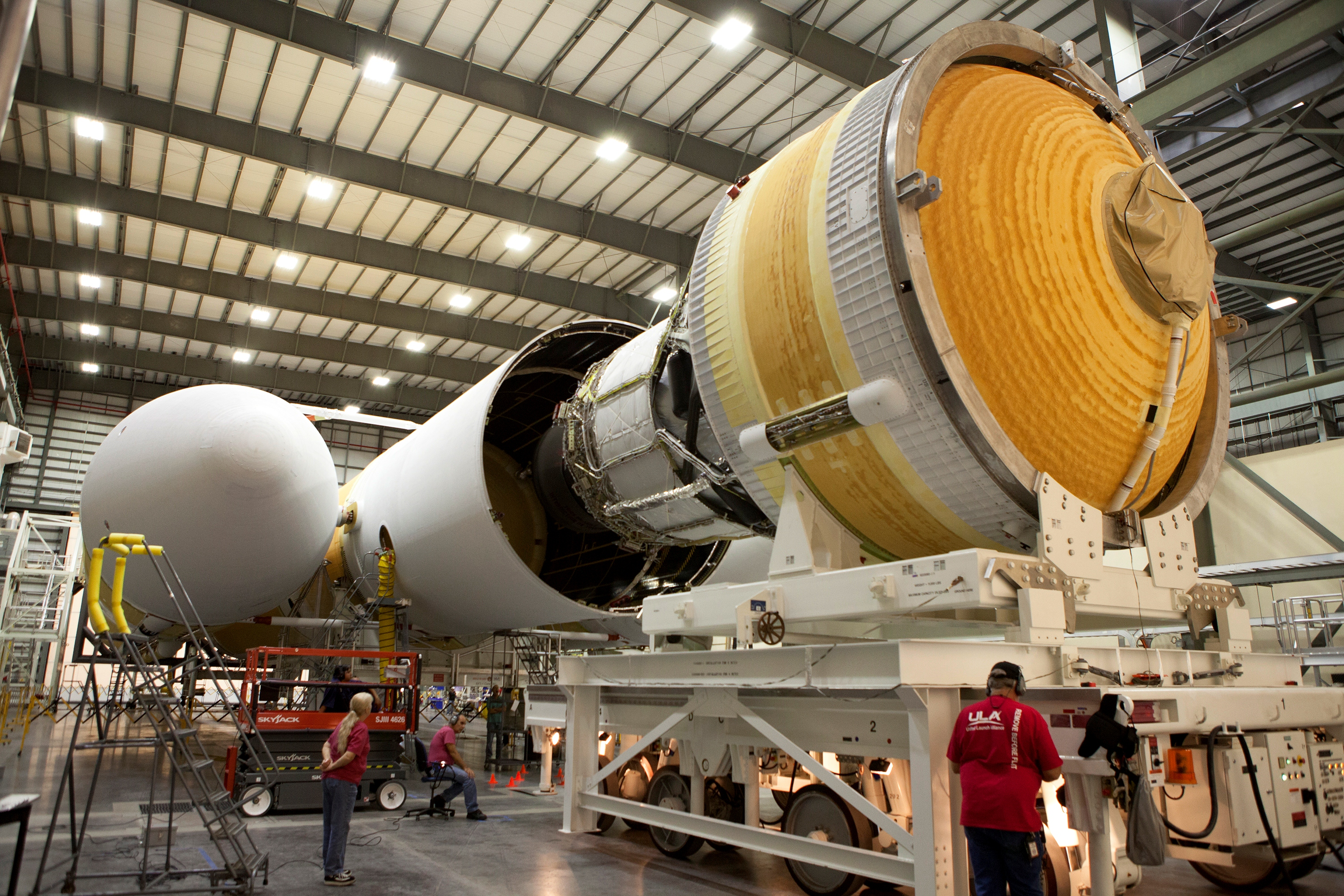 Delta Iv Booster Integration Another Step Toward First