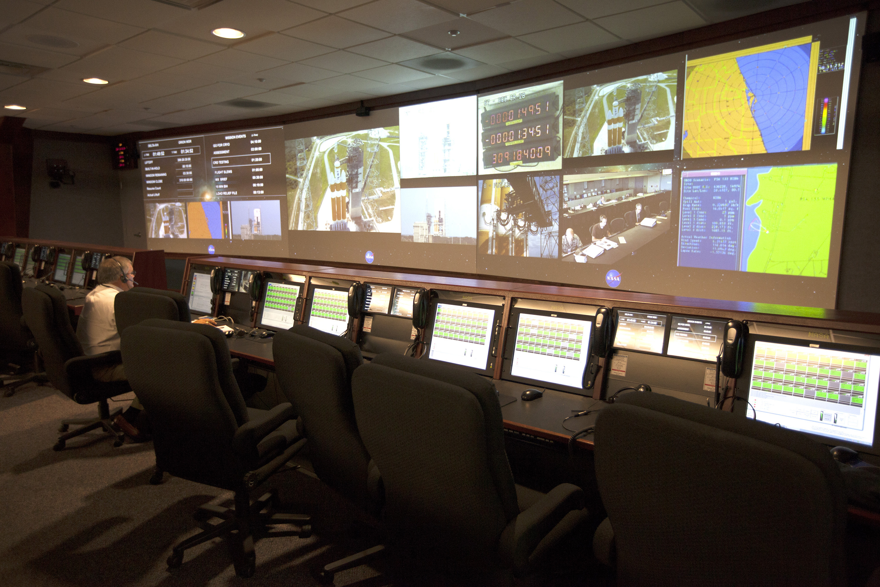 Nasa Orion Orion Control Room | N...
