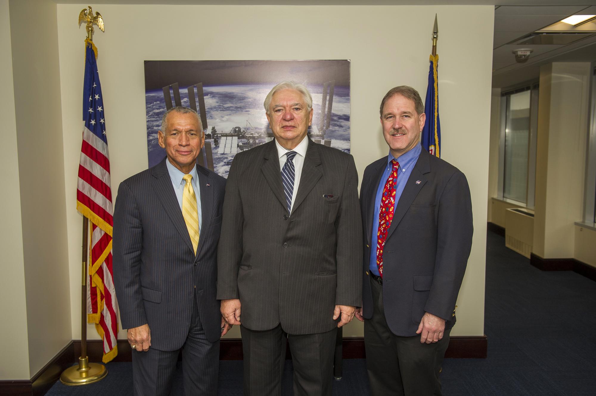 NASA Administrator and Associate Administrator with ...