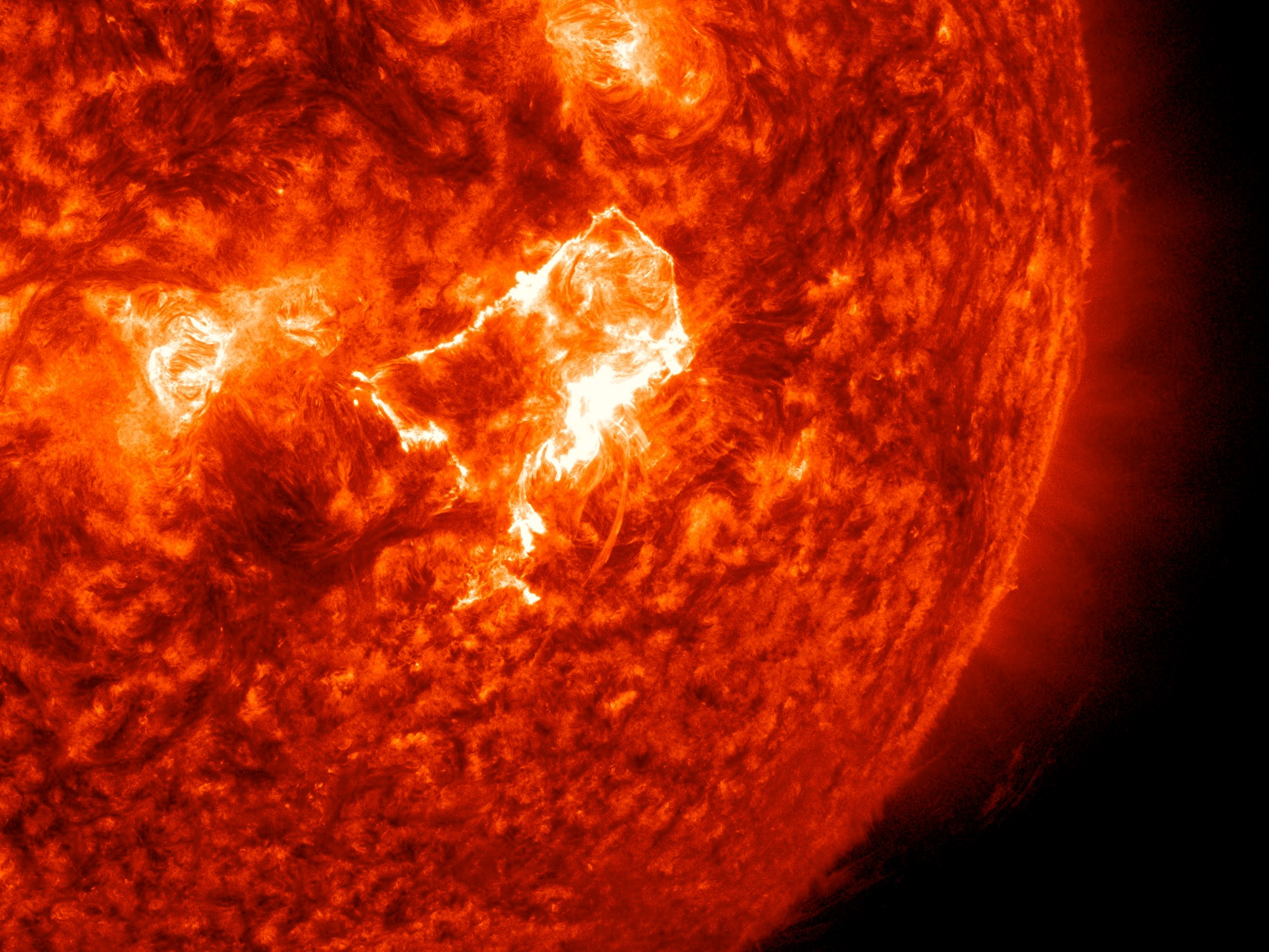 solar flares today nasa warning - photo #8