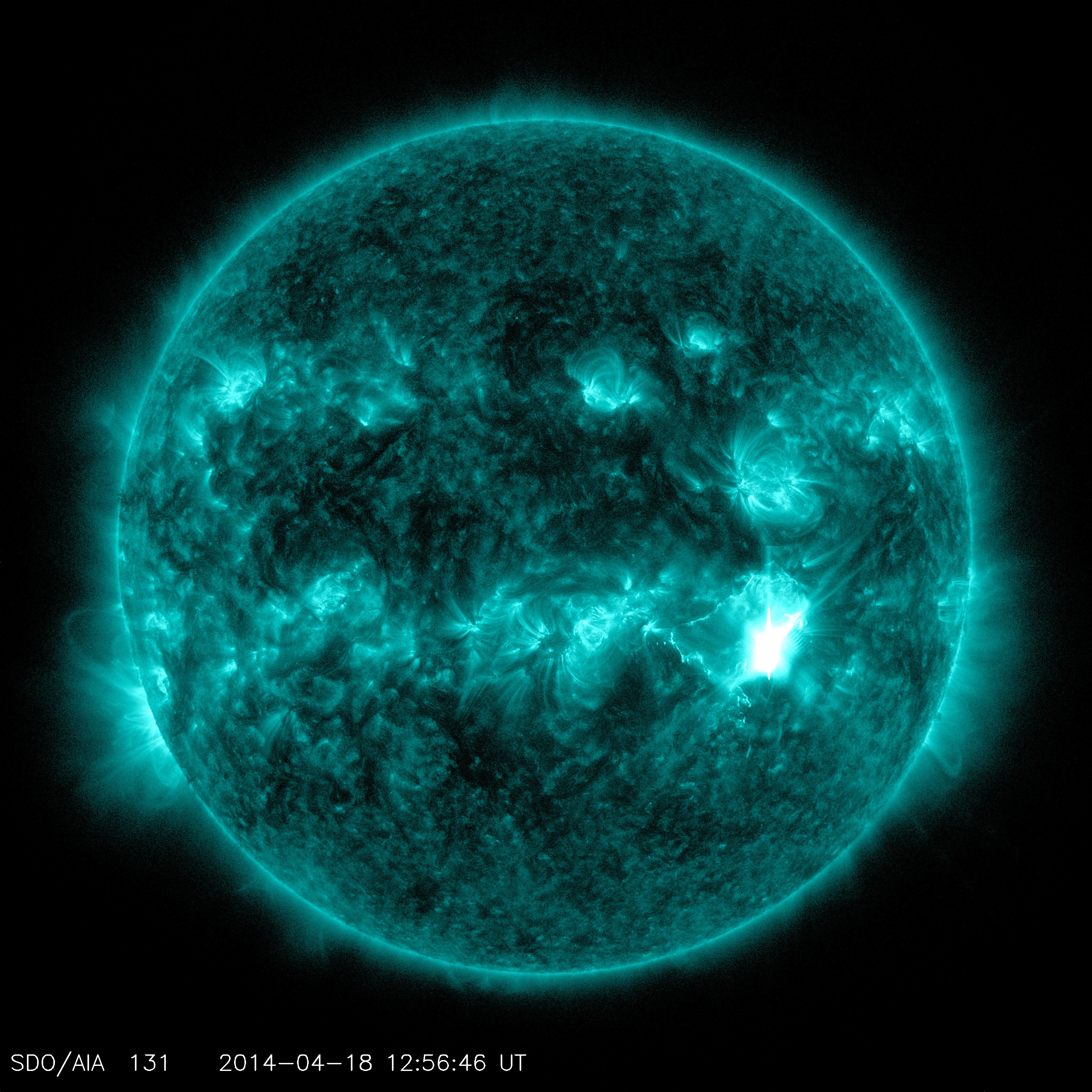 NASA Solar Flare Update - Pics about space