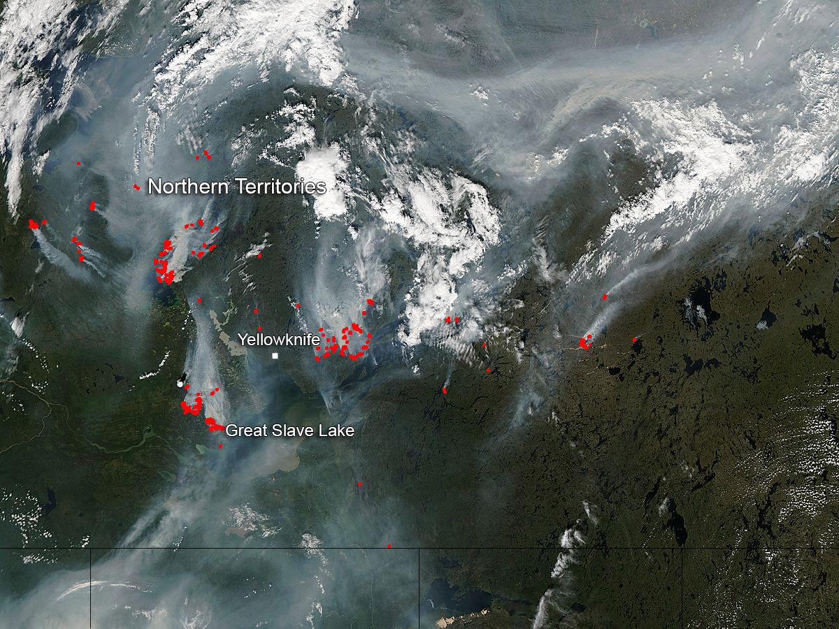 nasa fire map - photo #8