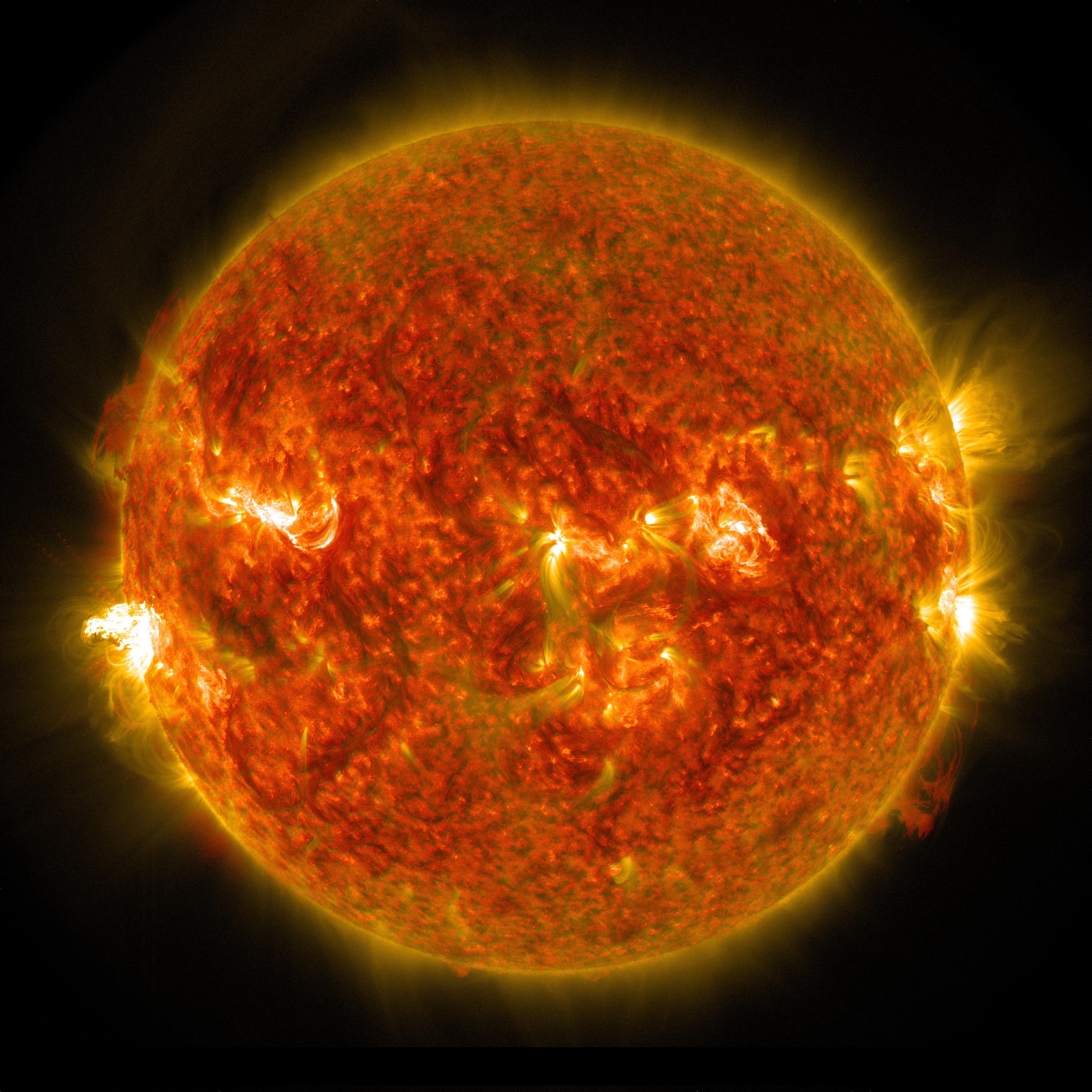 nasa solar flares 2017 earth - photo #24