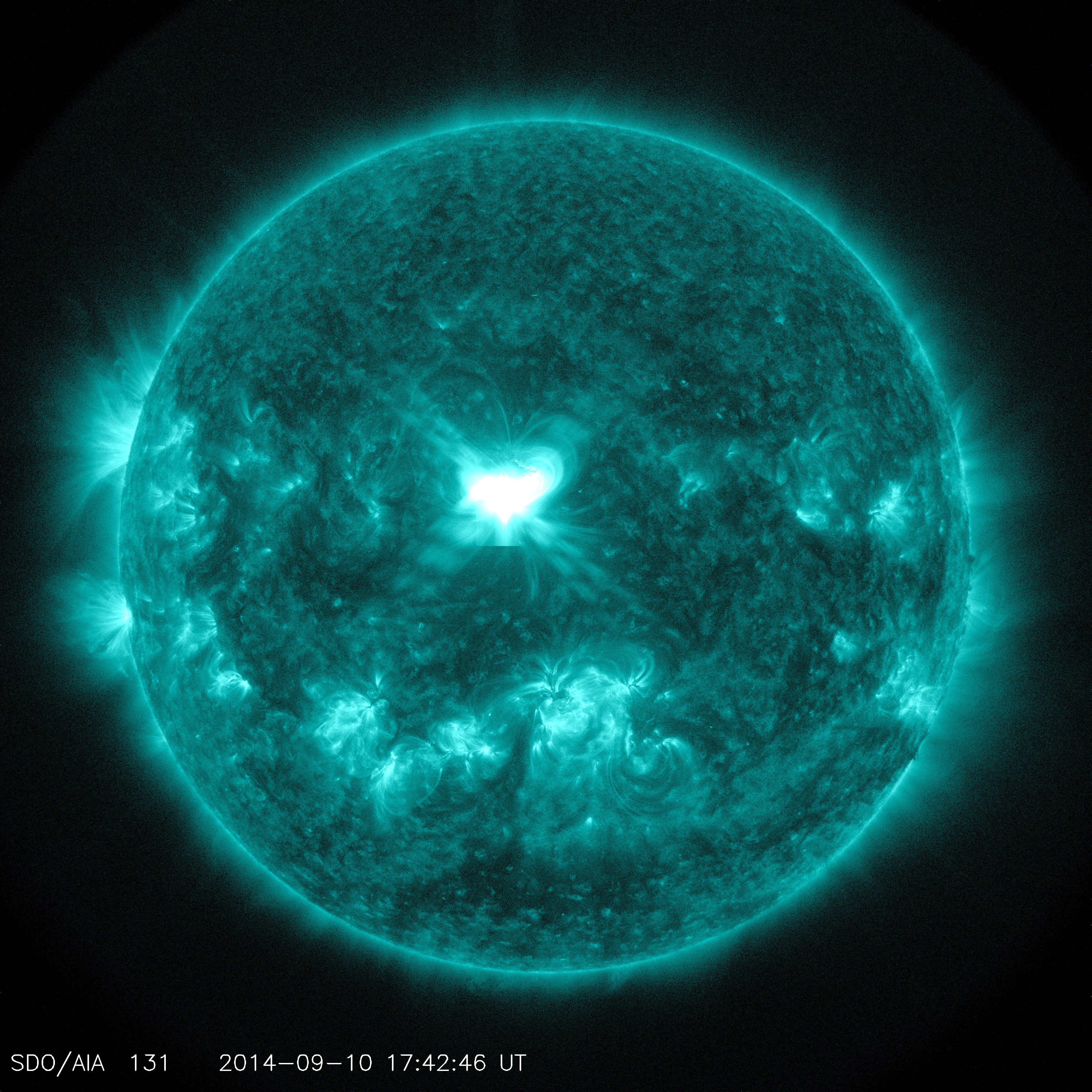 UPDATED: A Significant Flare Surges Off the Sun | NASA