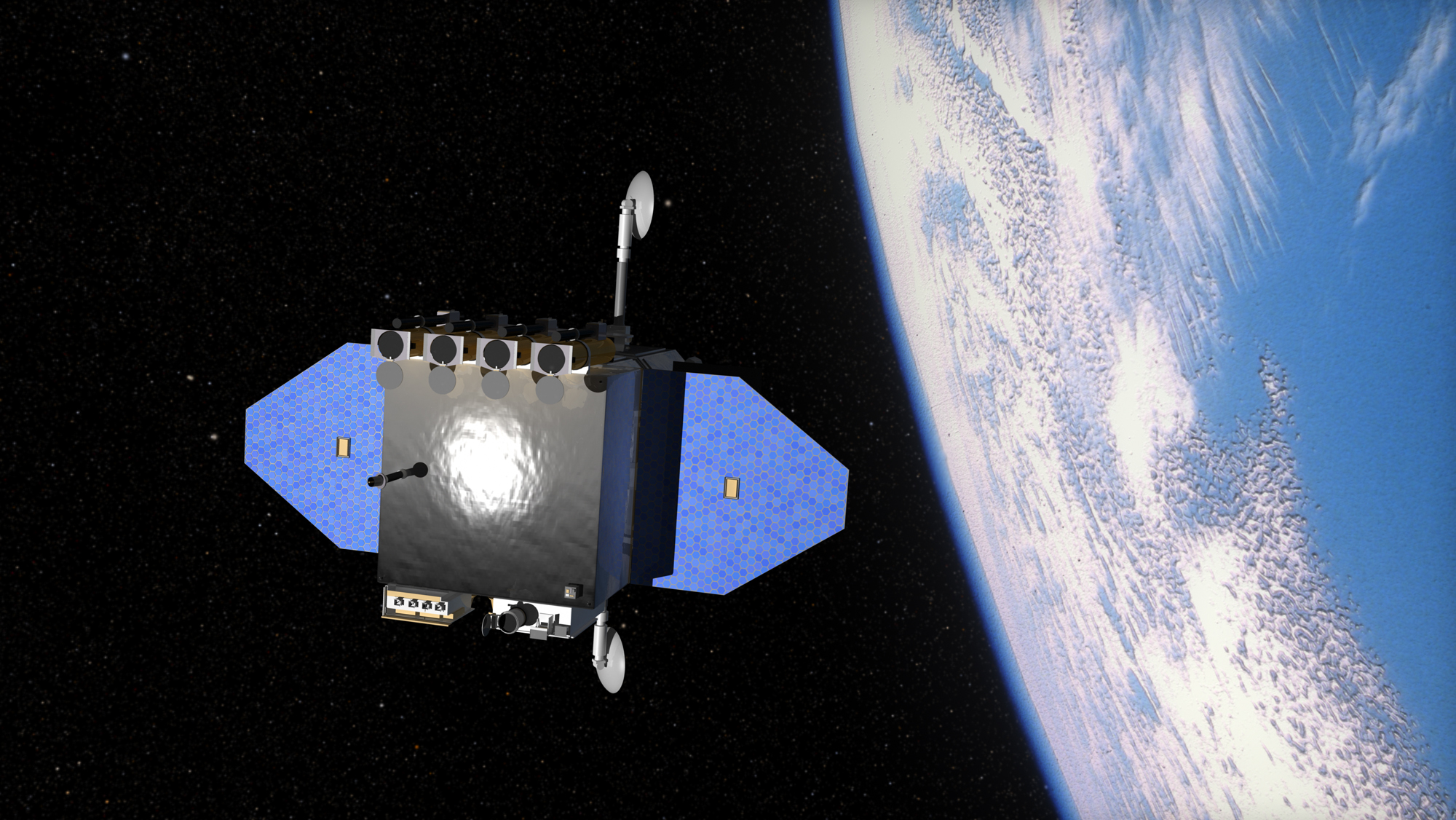Spacecraft Reveals Small Solar Events Have Large Scale ...