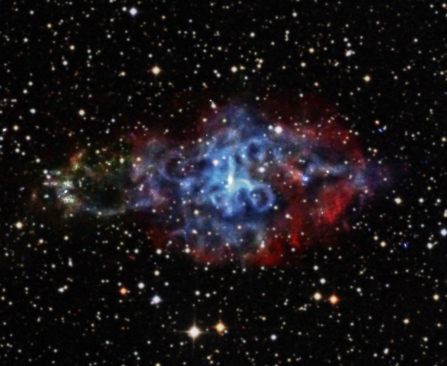 NASA's Chandra X-ray Observatory Celebrates 15th ...