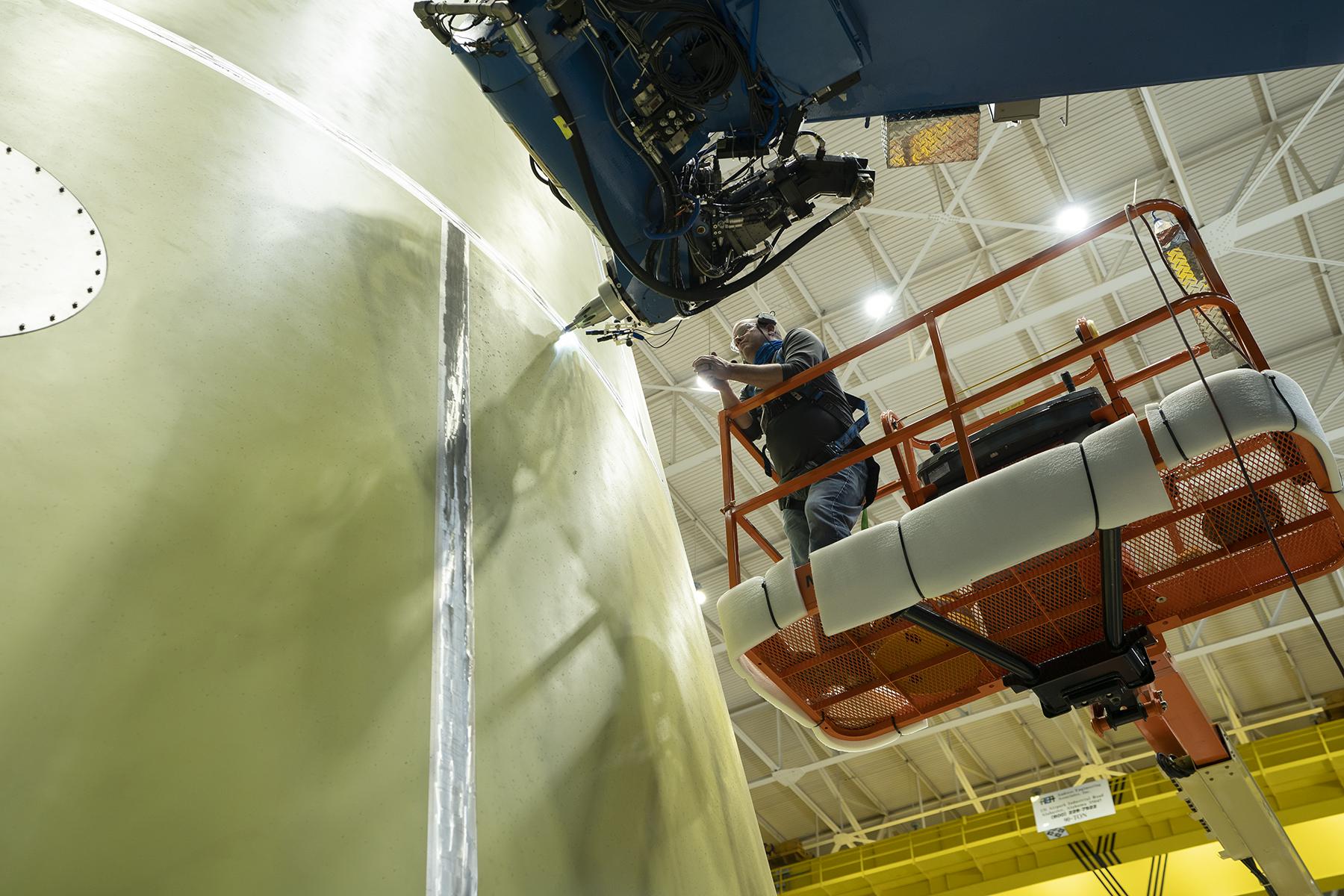 La NASA un paso más cerca del primer lanzamiento de Artemis con tripulación