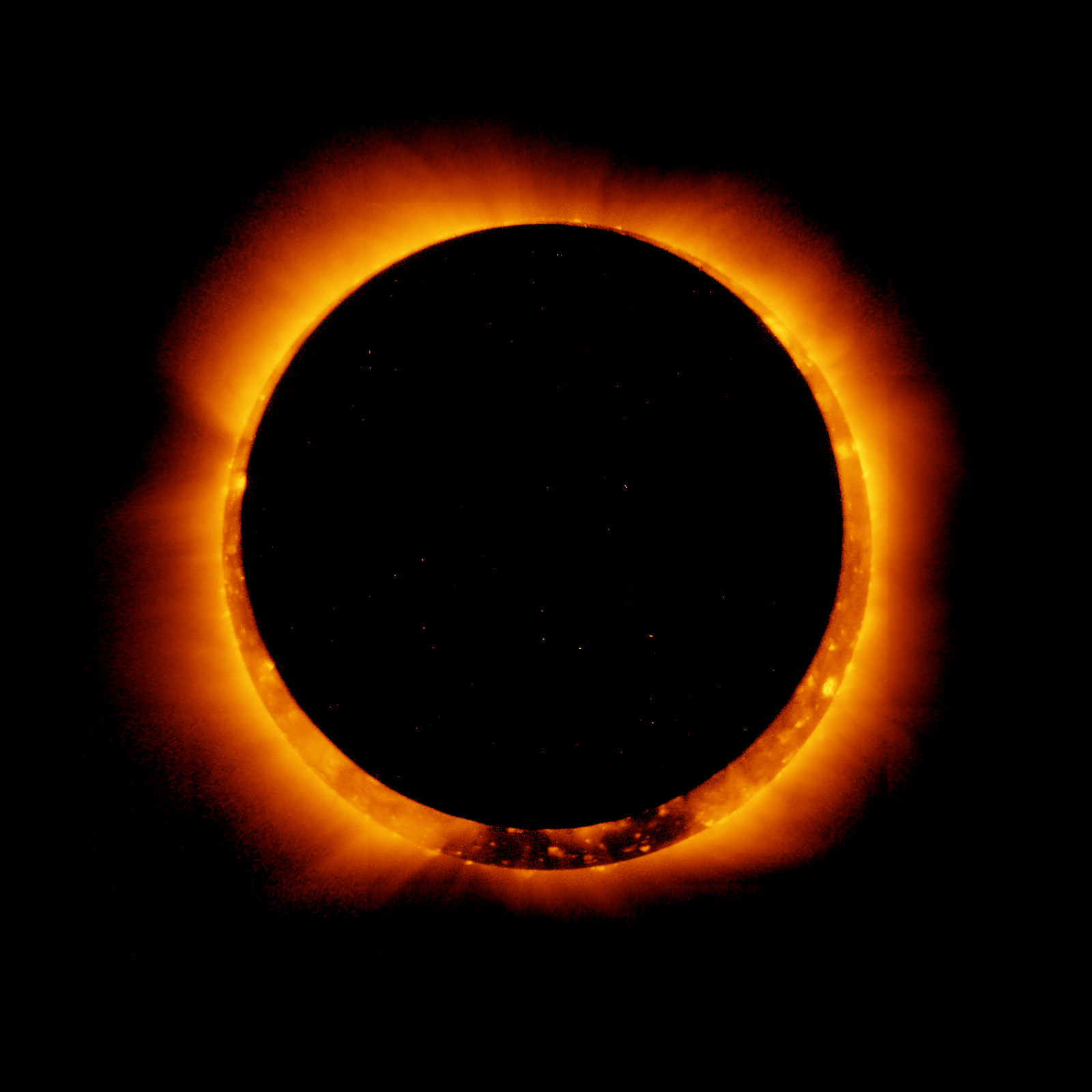 Image result for images of annular solar eclispe
