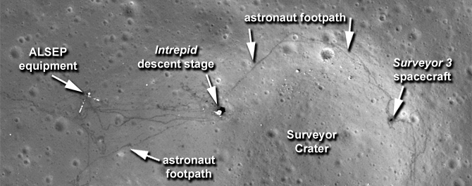 New Images Offer Sharper View of Apollo Sites  NASA