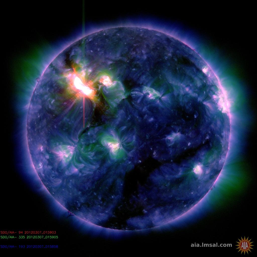 solar storm activity - photo #12